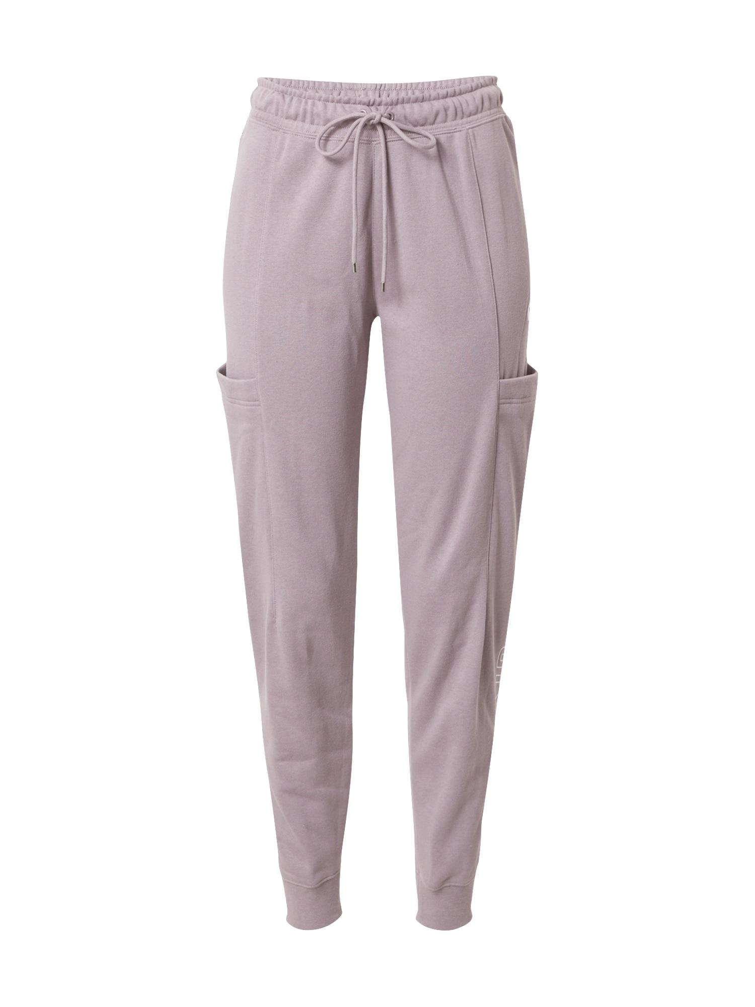 Nike Sportswear Kelnės balta / rausvai pilka