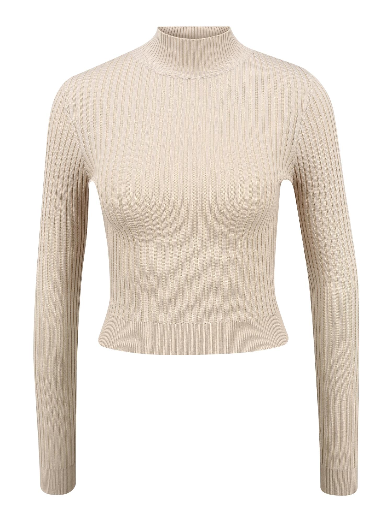 Missguided (Tall) Marškinėliai glaisto spalva
