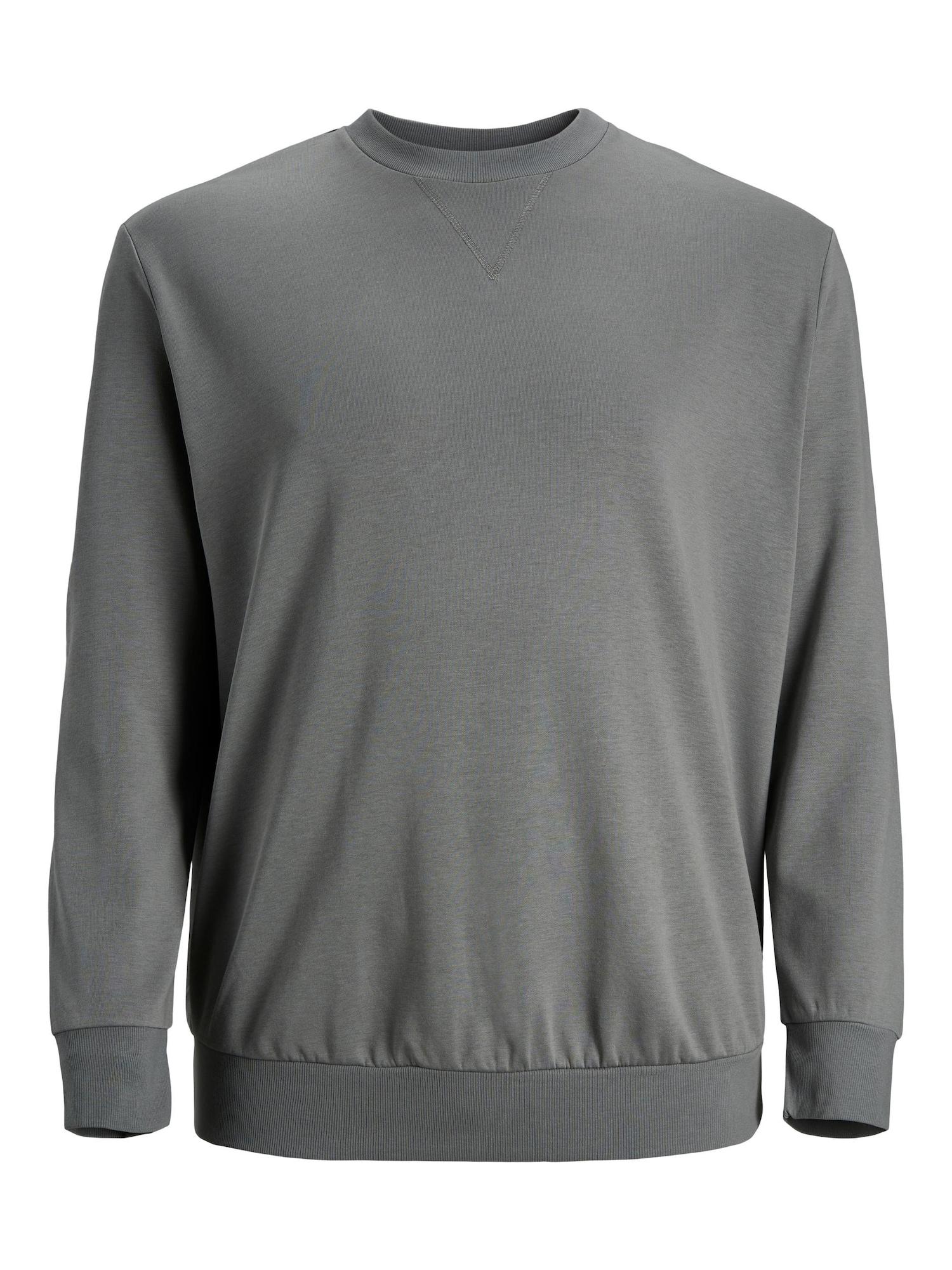 Jack & Jones Plus Megztinis be užsegimo dūmų pilka