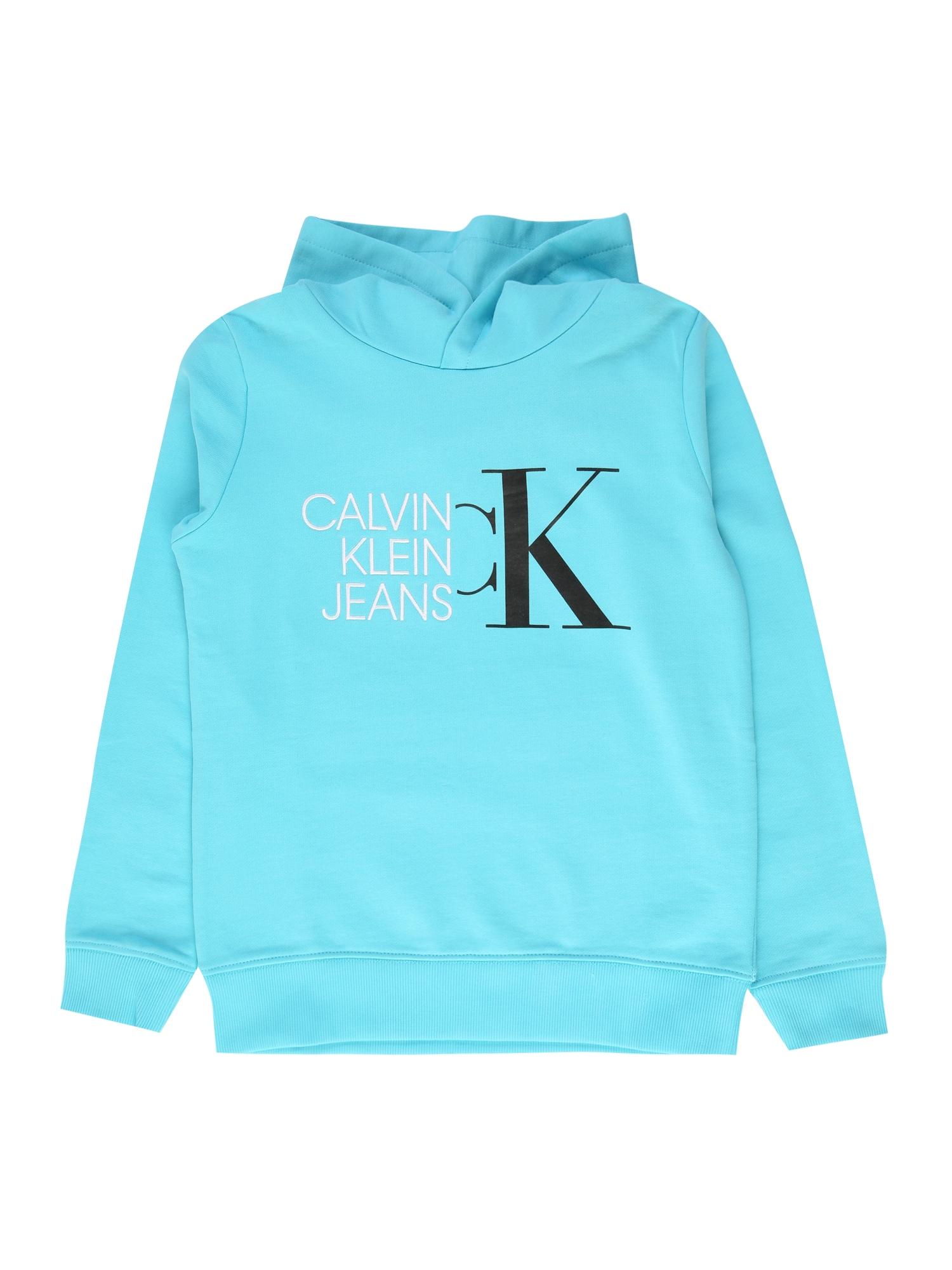 Calvin Klein Jeans Megztinis be užsegimo šviesiai mėlyna