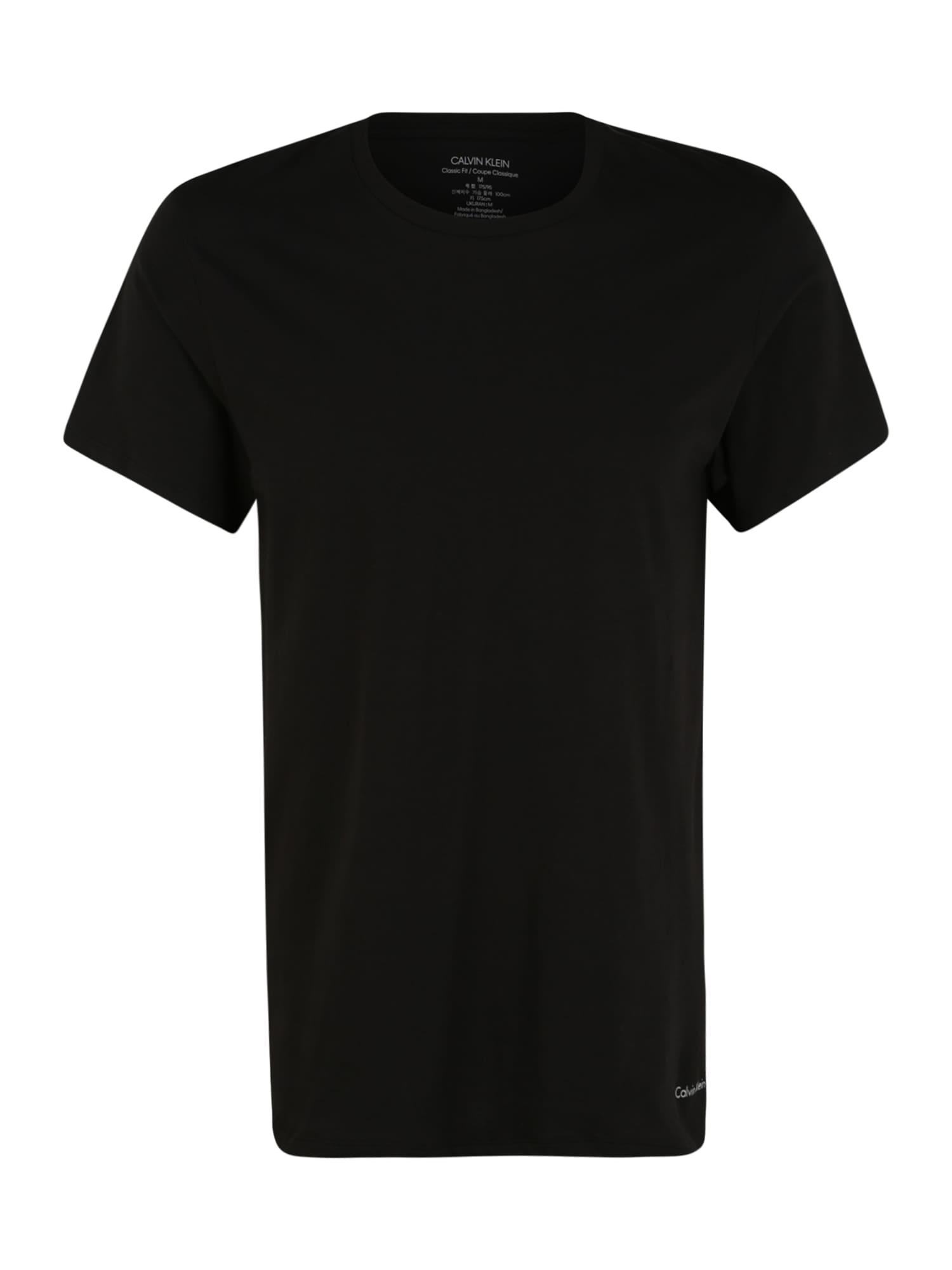 Calvin Klein Underwear Marškinėliai juoda