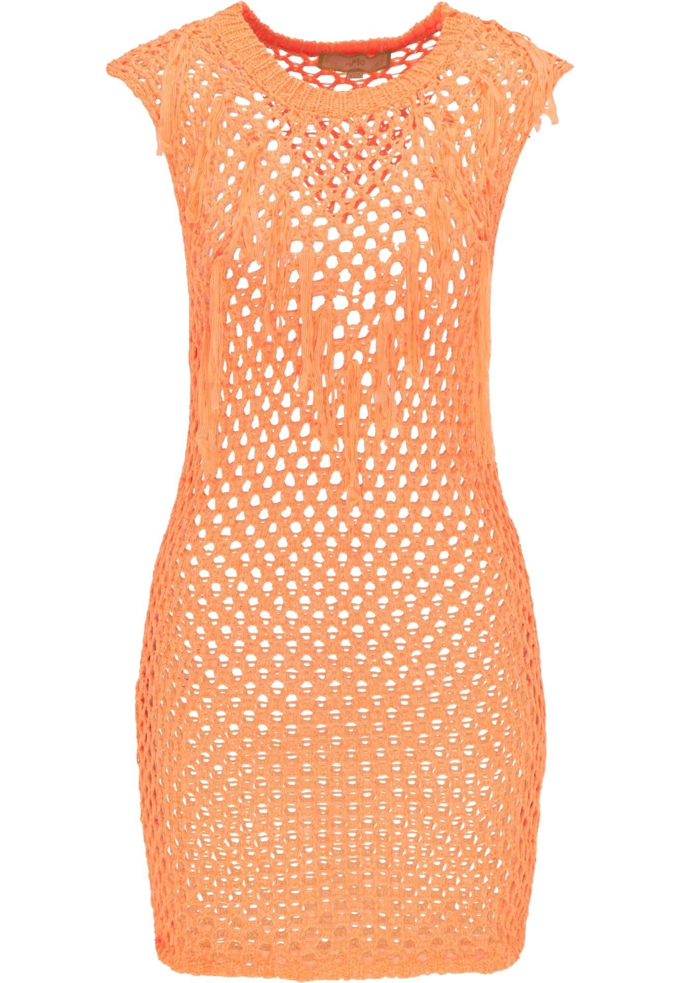 MYMO Paplūdimio suknelė neoninė oranžinė