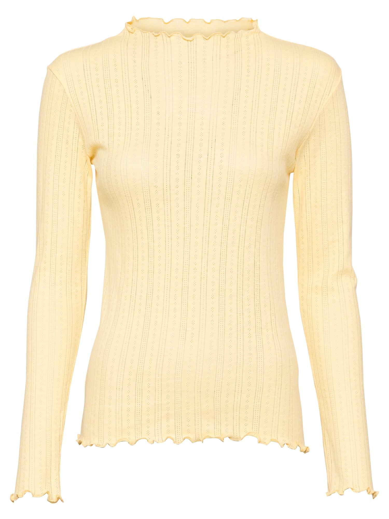 MADS NORGAARD COPENHAGEN Marškinėliai šviesiai geltona