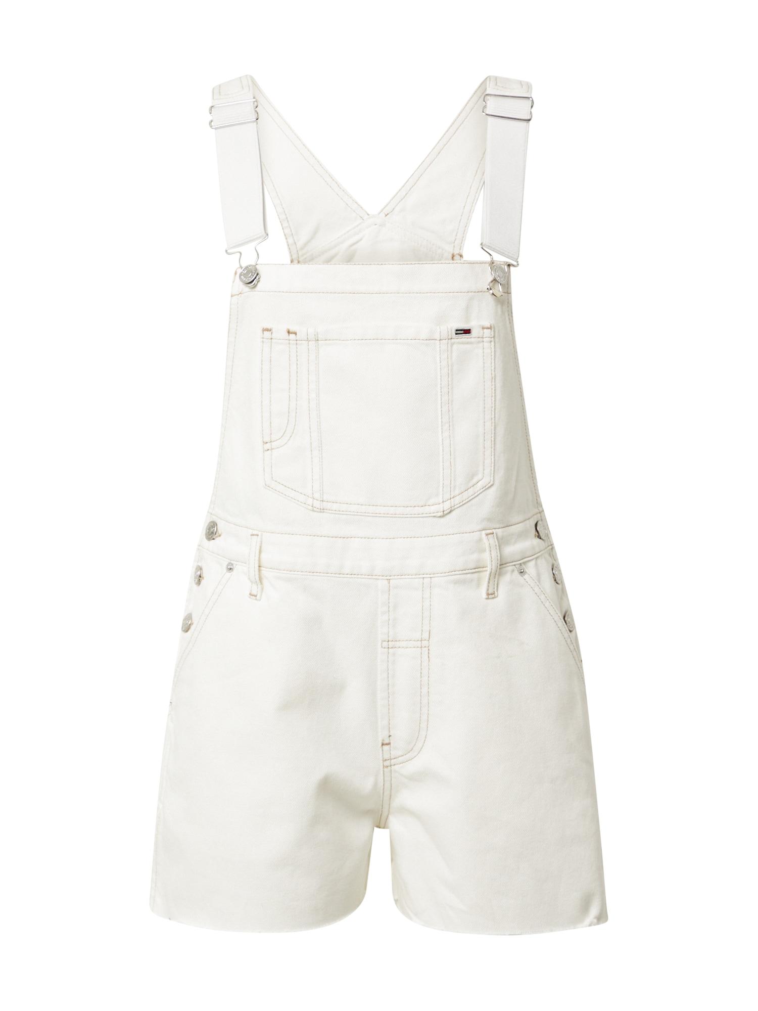 Tommy Jeans Kombinezonas su petnešomis natūrali balta
