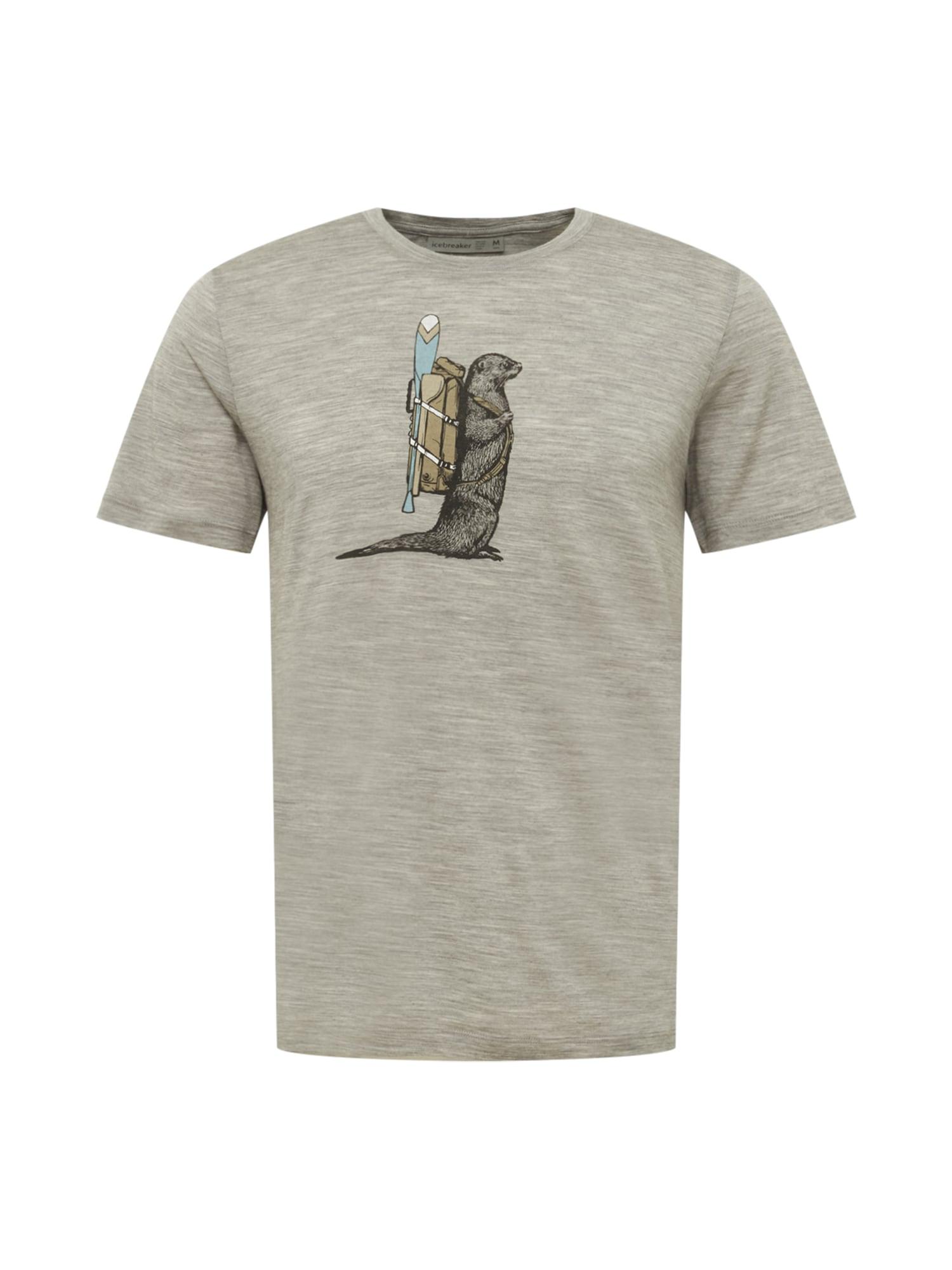 Icebreaker Sportiniai marškinėliai mišrios spalvos / dūmų pilka