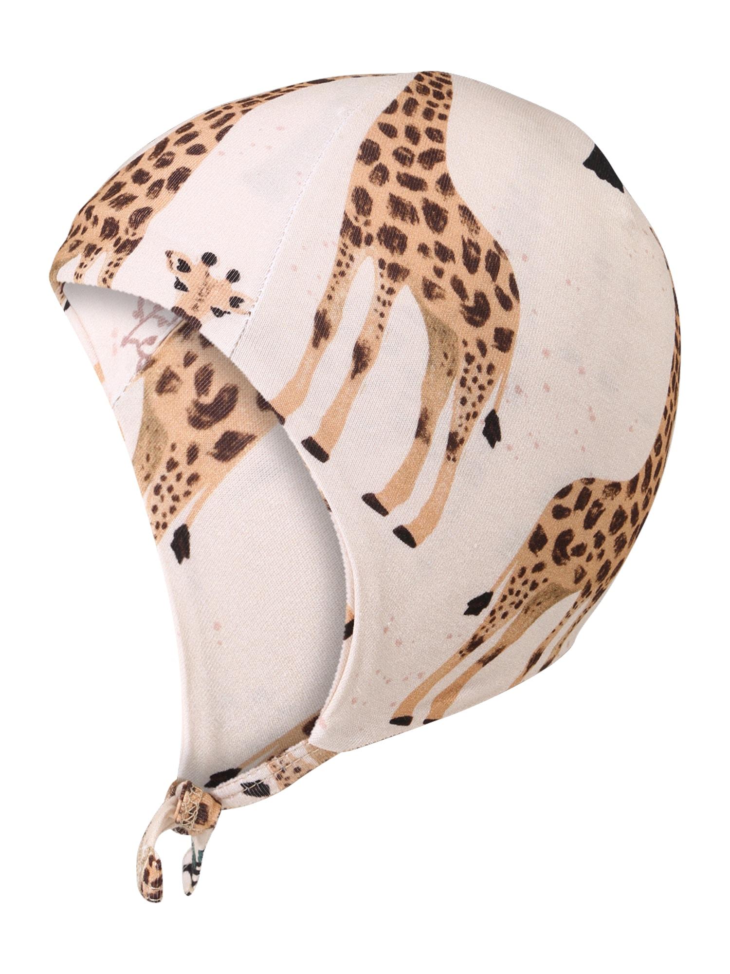 Walkiddy Megzta kepurė smėlio / mišrios spalvos
