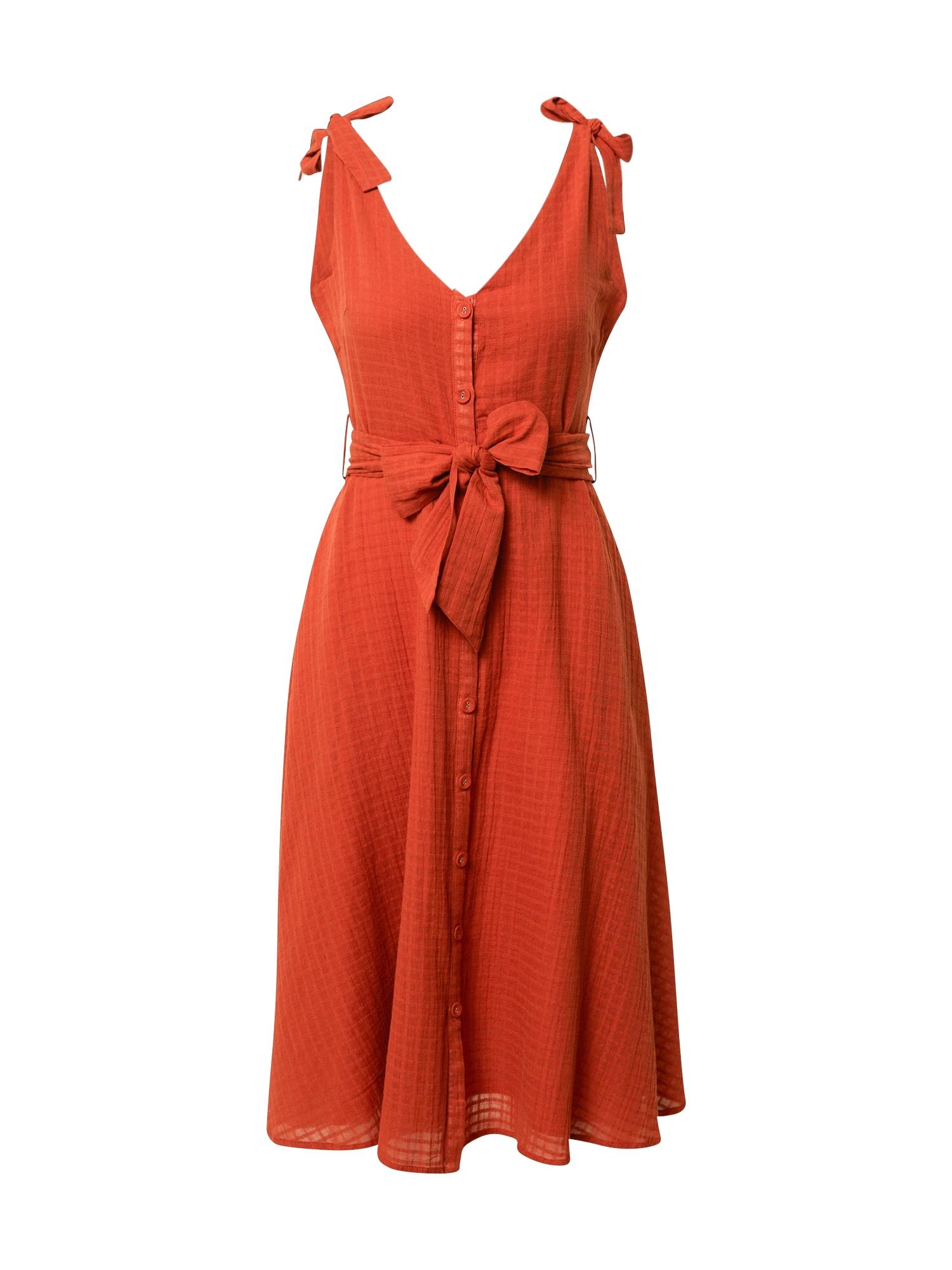 FRNCH PARIS Suknelė oranžinė-raudona