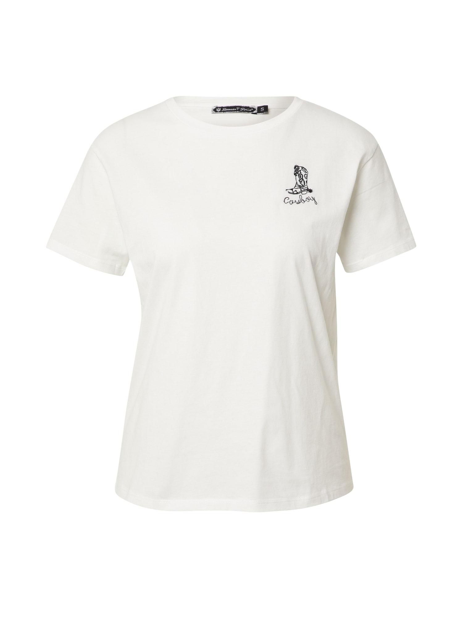 FREEMAN T. PORTER Marškinėliai balta