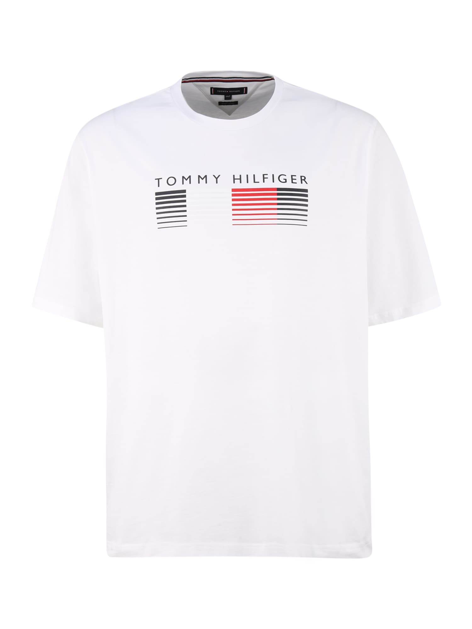 Tommy Hilfiger Big & Tall Marškinėliai balkšva / tamsiai mėlyna / melionų spalva