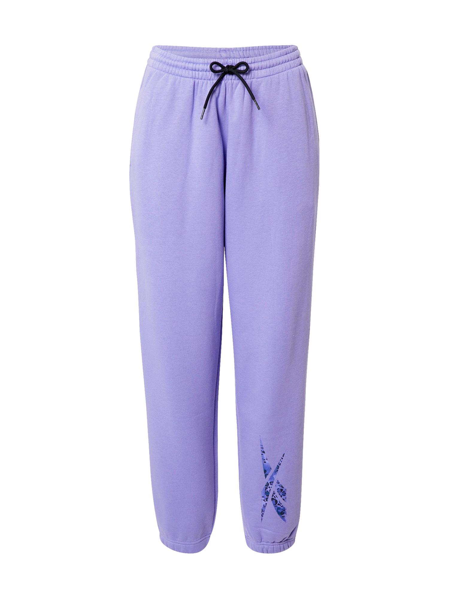 REEBOK Sportinės kelnės šviesiai violetinė