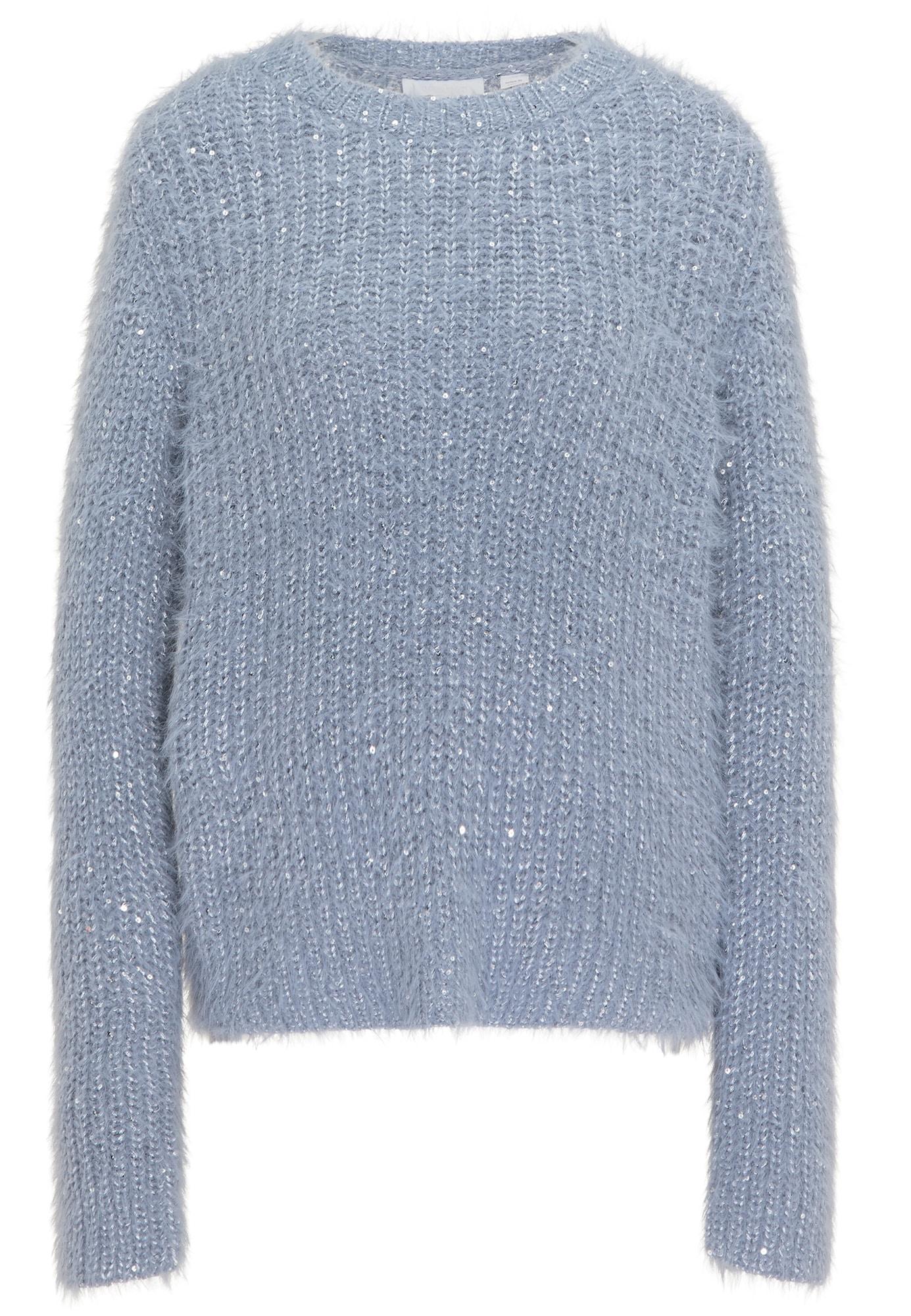usha WHITE LABEL Megztinis melsvai pilka