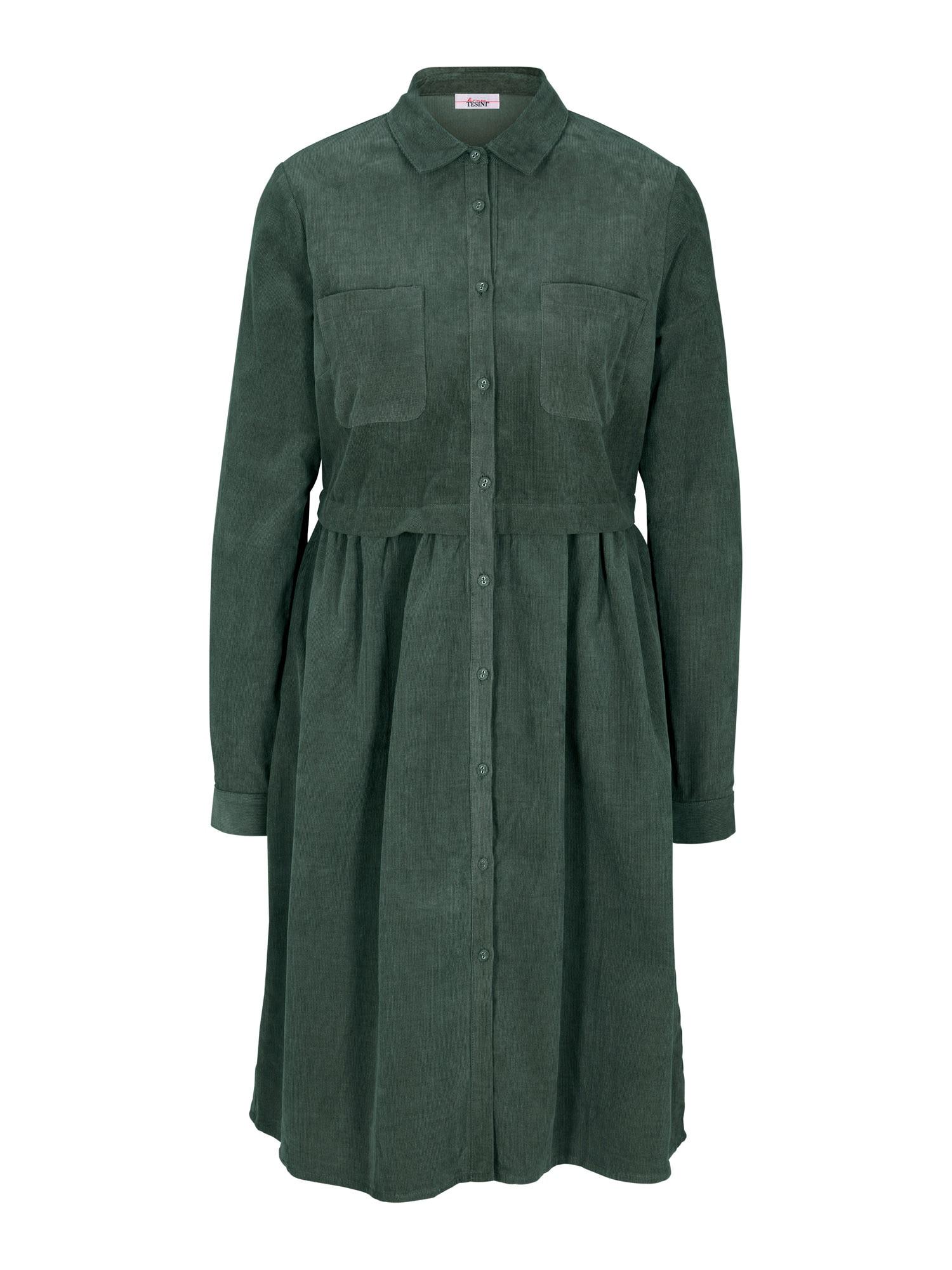 heine Společenské šaty  olivová