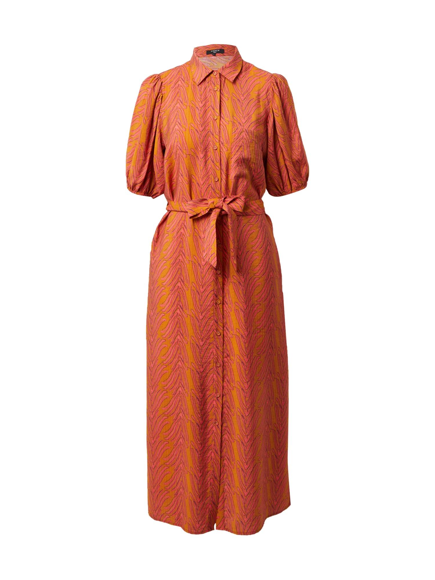 FRNCH PARIS Palaidinės tipo suknelė oranžinė / koralų splava
