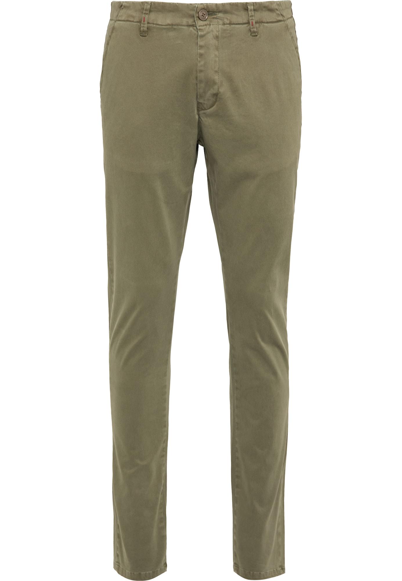 DreiMaster Vintage Chino kalhoty  olivová