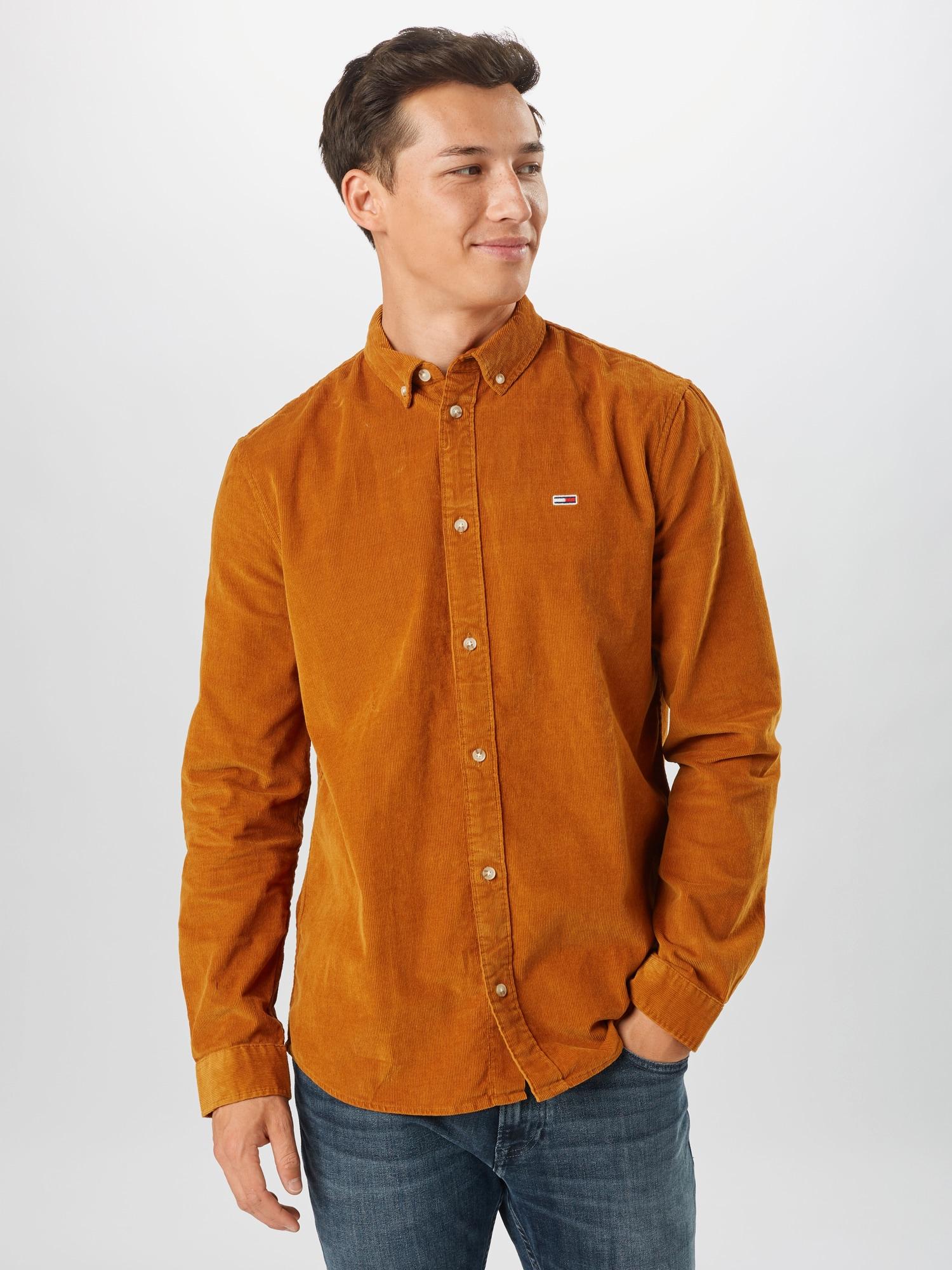 Tommy Jeans Skjorta  karamell