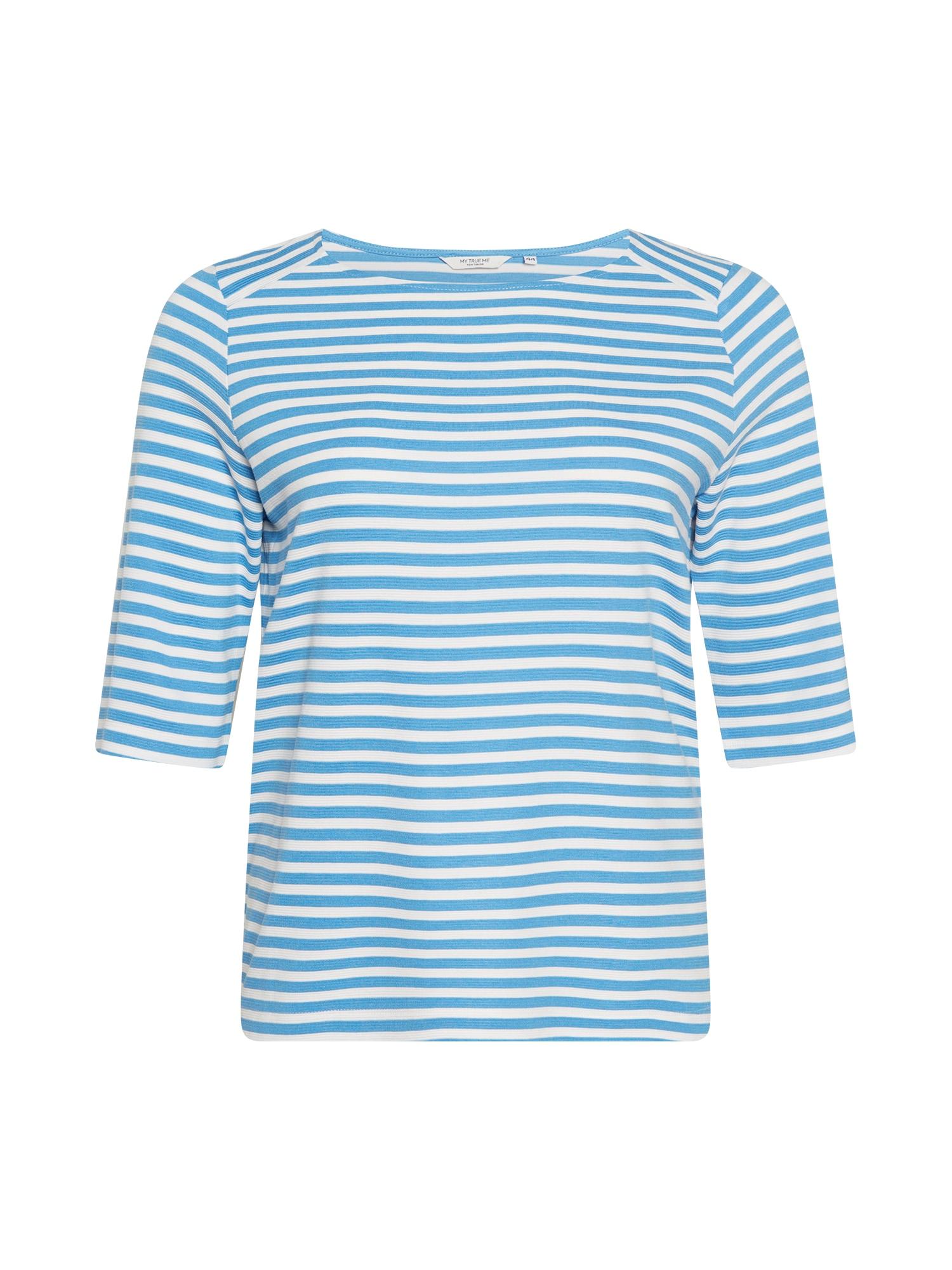 MY TRUE ME Marškinėliai mėlyna / balta