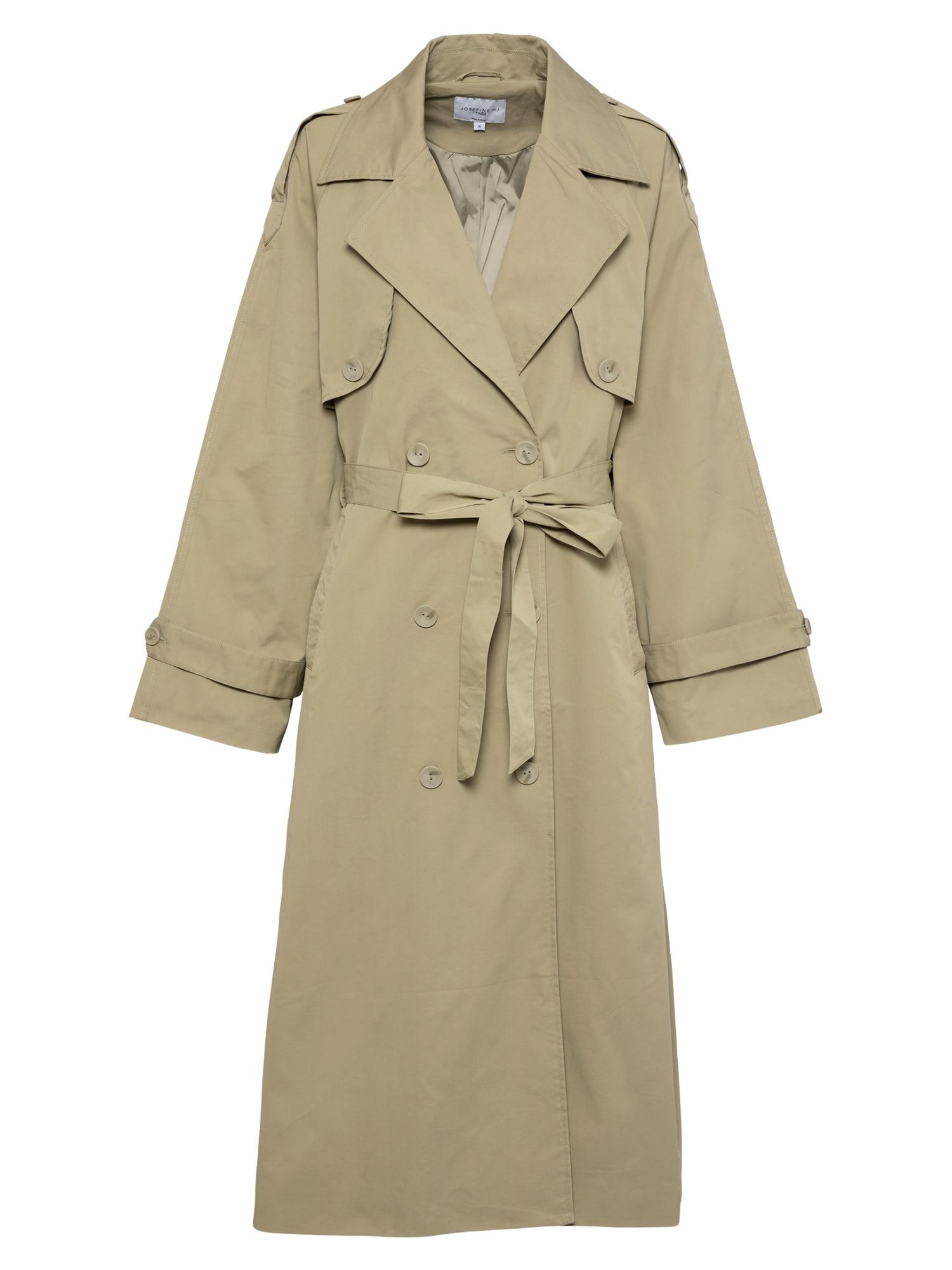 NA-KD Demisezoninis paltas rusvai žalia