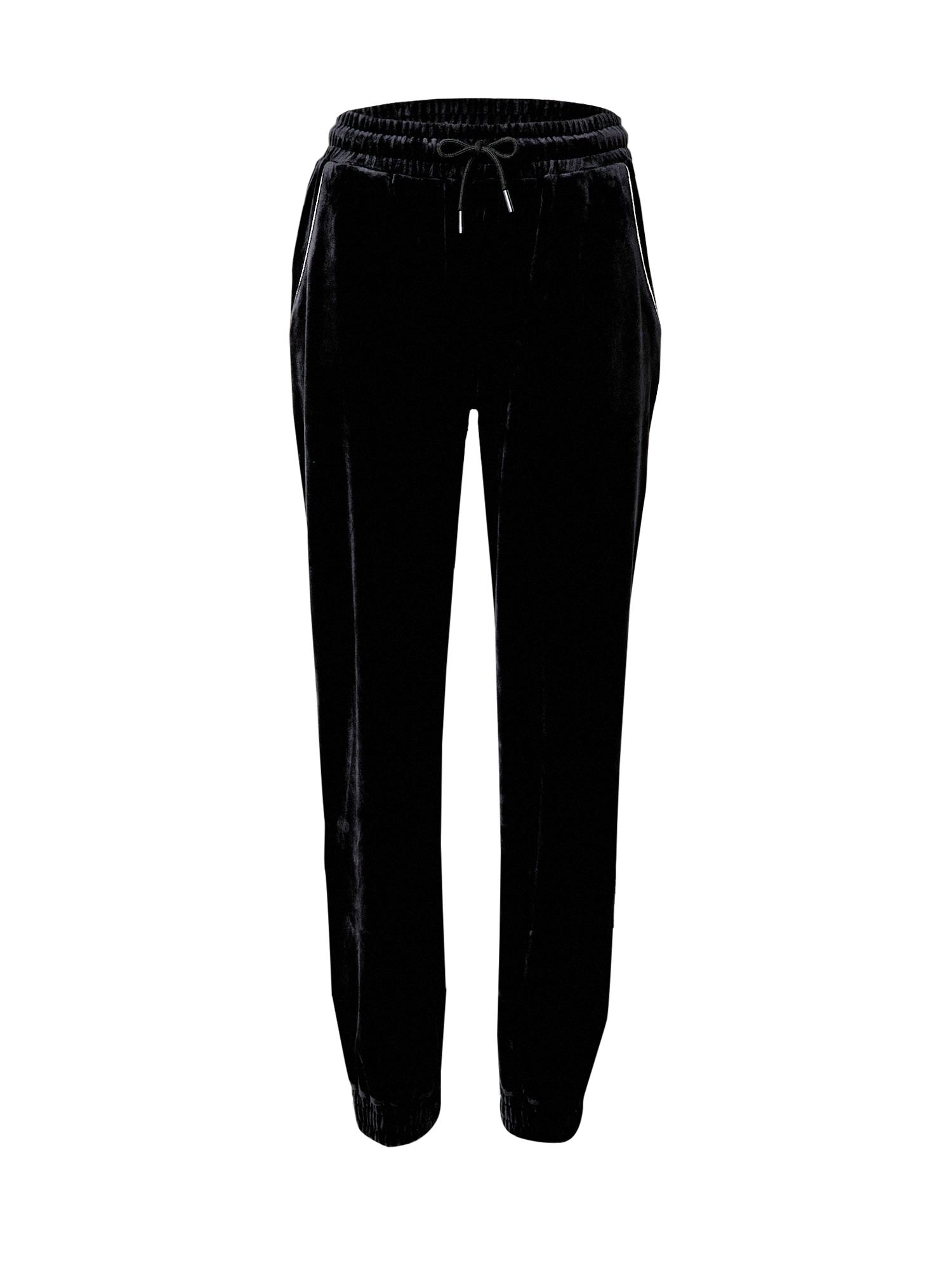 VIERVIER Kelnės 'Lene' juoda