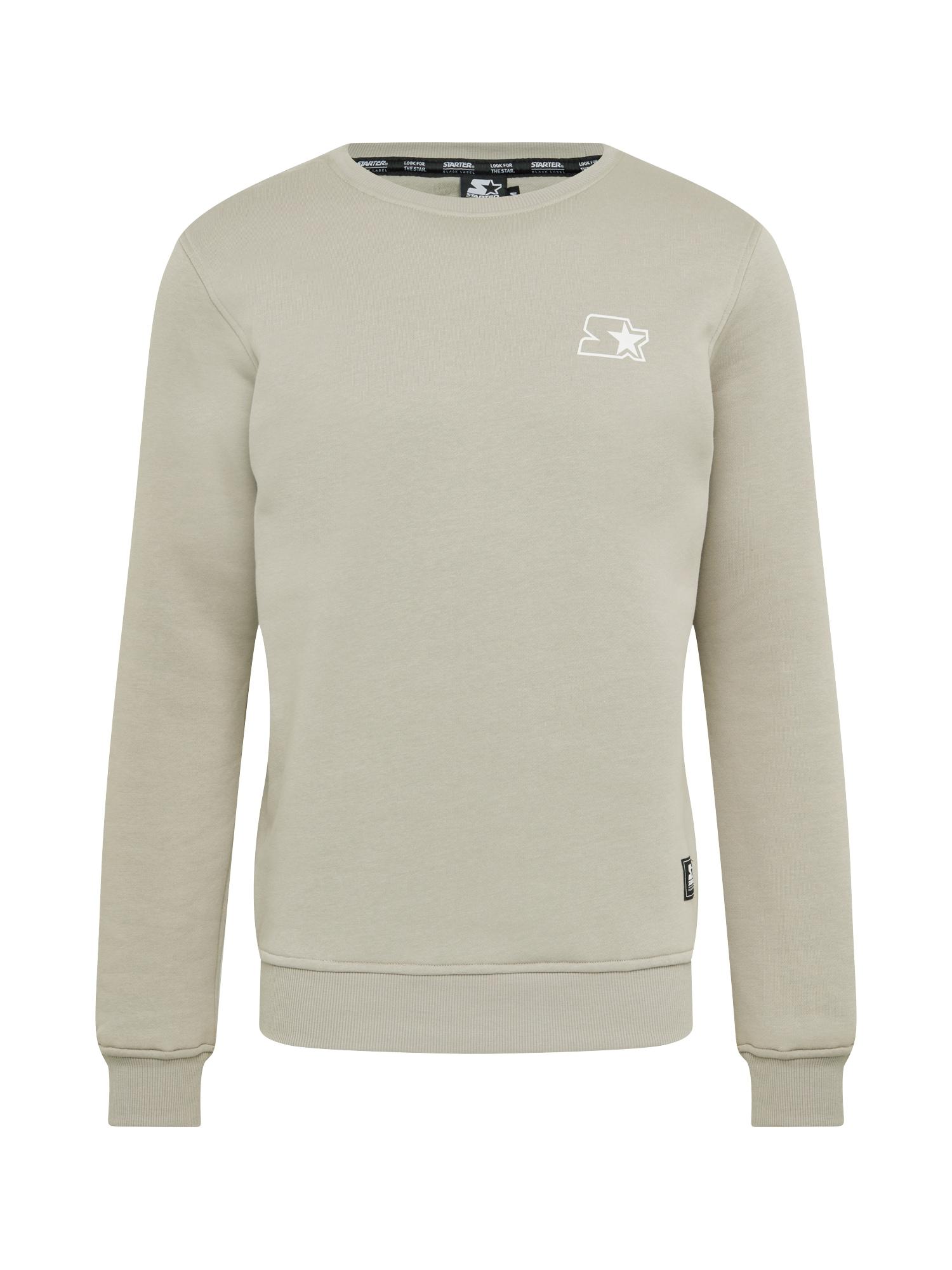 Starter Black Label Megztinis be užsegimo šviesiai pilka / balta
