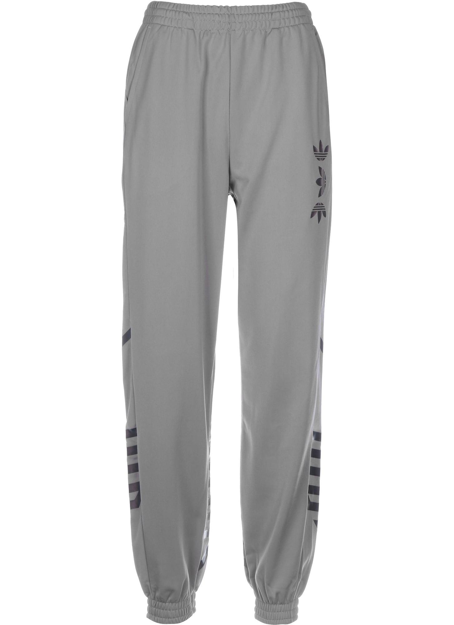 ADIDAS ORIGINALS Nohavice  čierna / sivá melírovaná