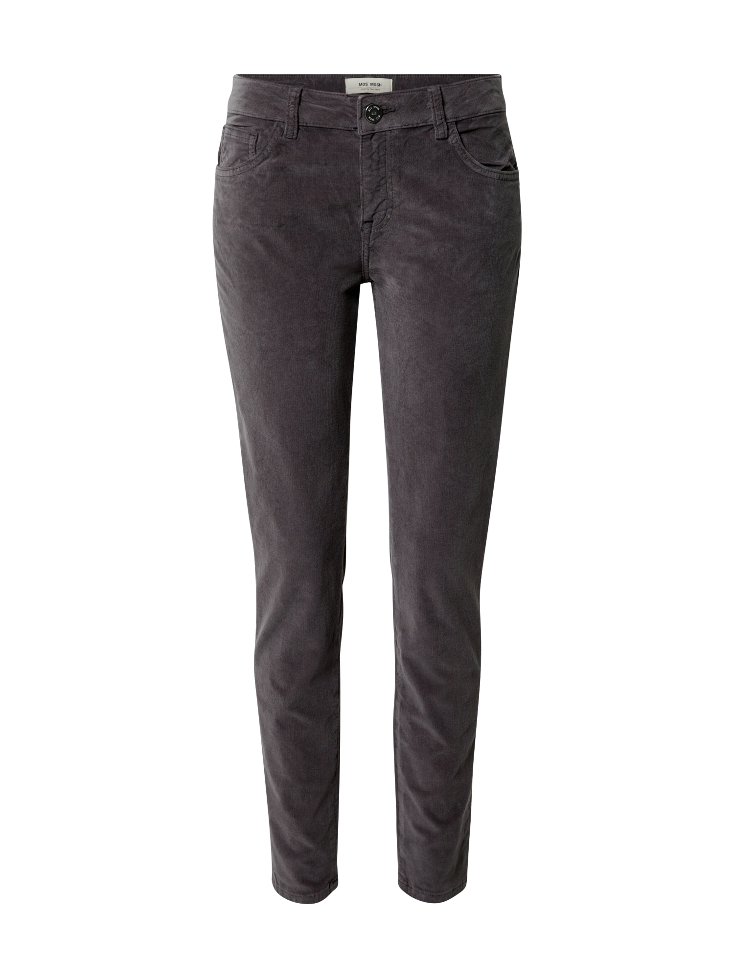 MOS MOSH Kalhoty  tmavě šedá