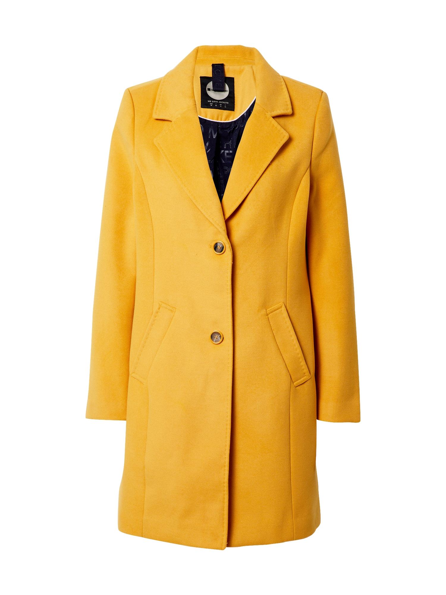 STREET ONE Demisezoninis paltas garstyčių spalva