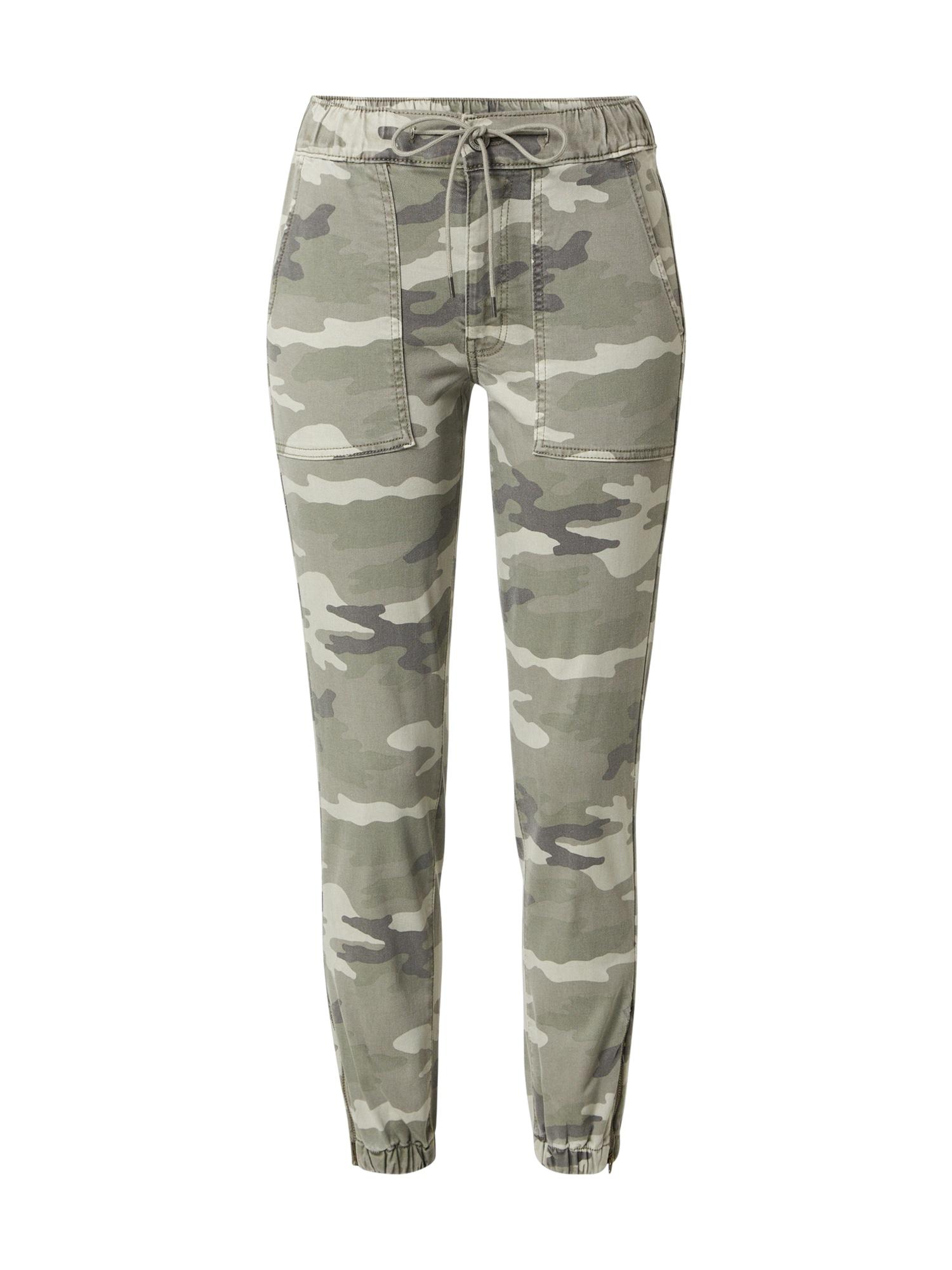 American Eagle Džinsai margai pilka / tamsiai pilka / alyvuogių spalva / pastelinė žalia