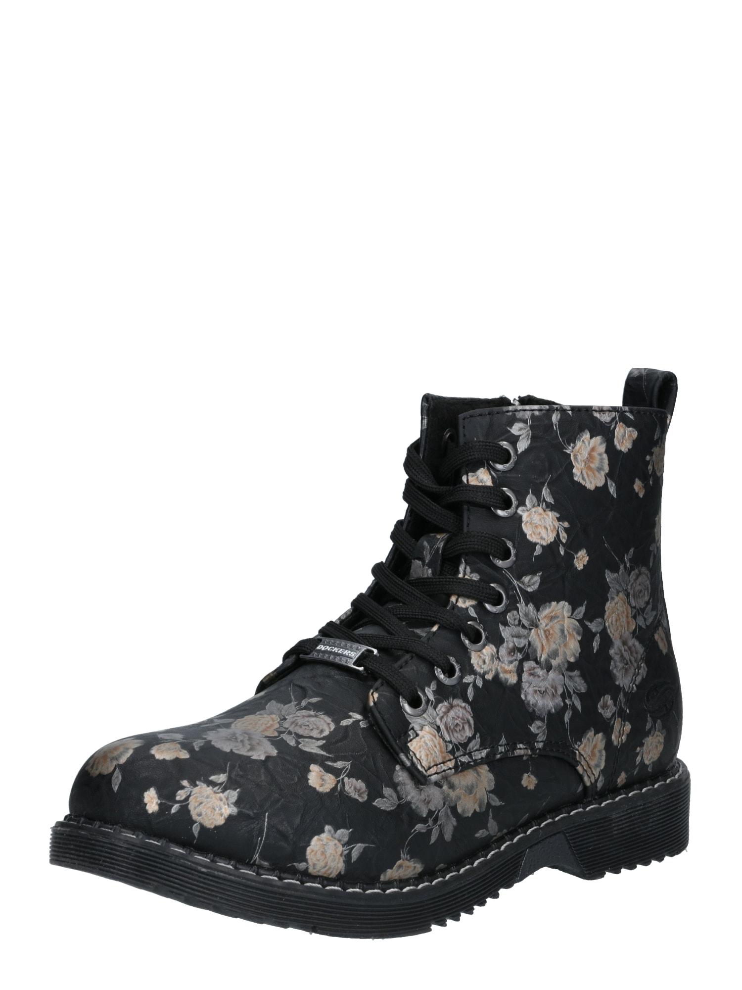 Dockers by Gerli Auliniai batai su kulniuku mišrios spalvos / juoda