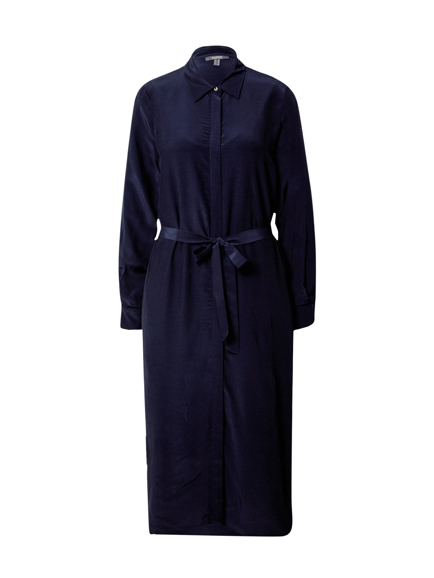 Esprit Collection Palaidinės tipo suknelė tamsiai mėlyna
