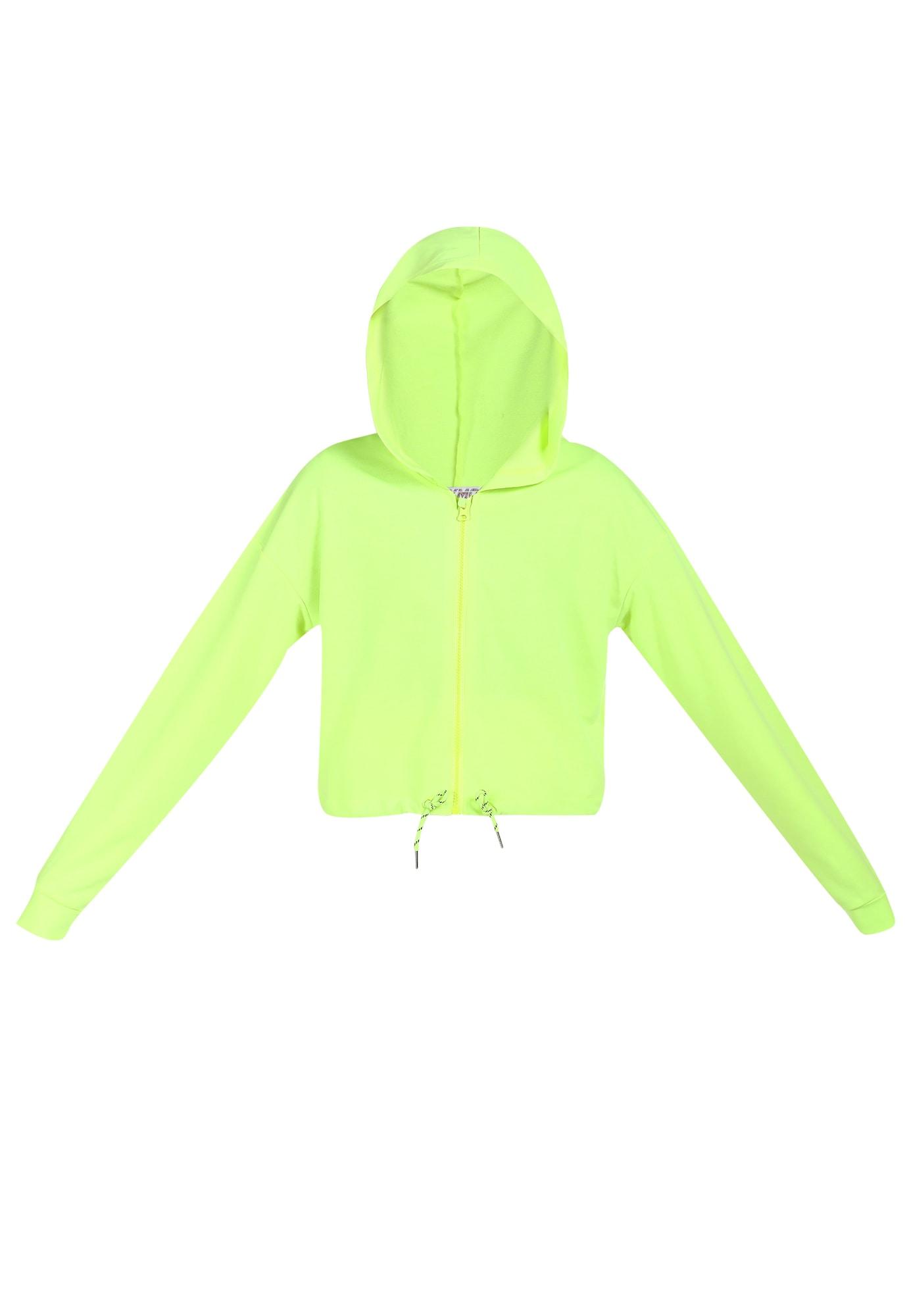 myMo ATHLSR Sportinis džemperis neoninė geltona