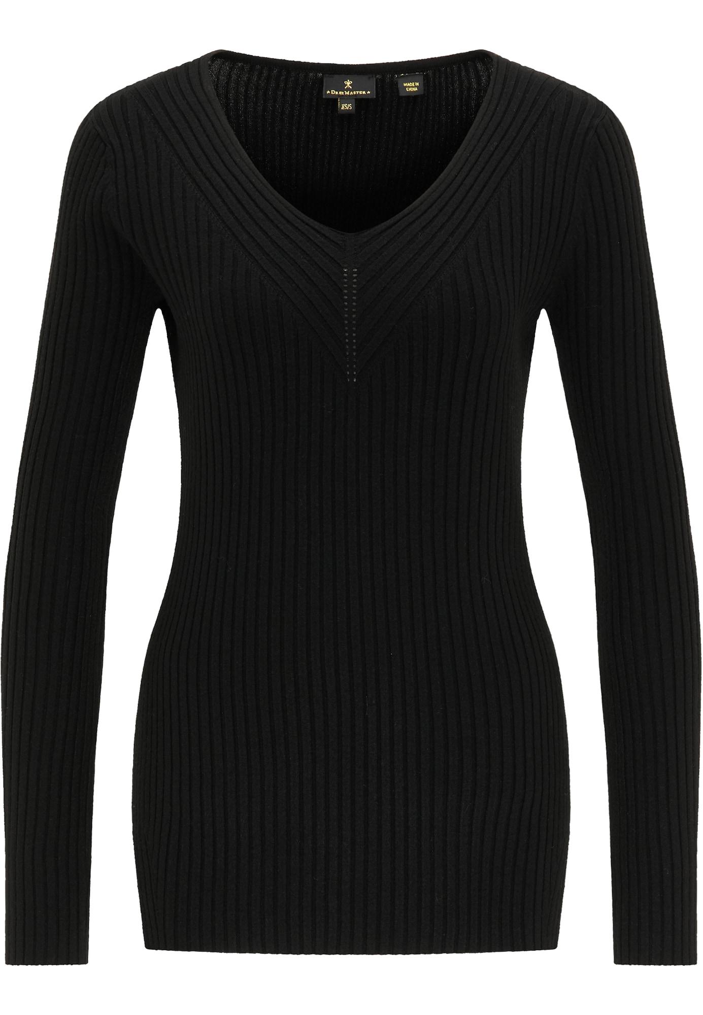 DreiMaster Klassik Megztinis juoda