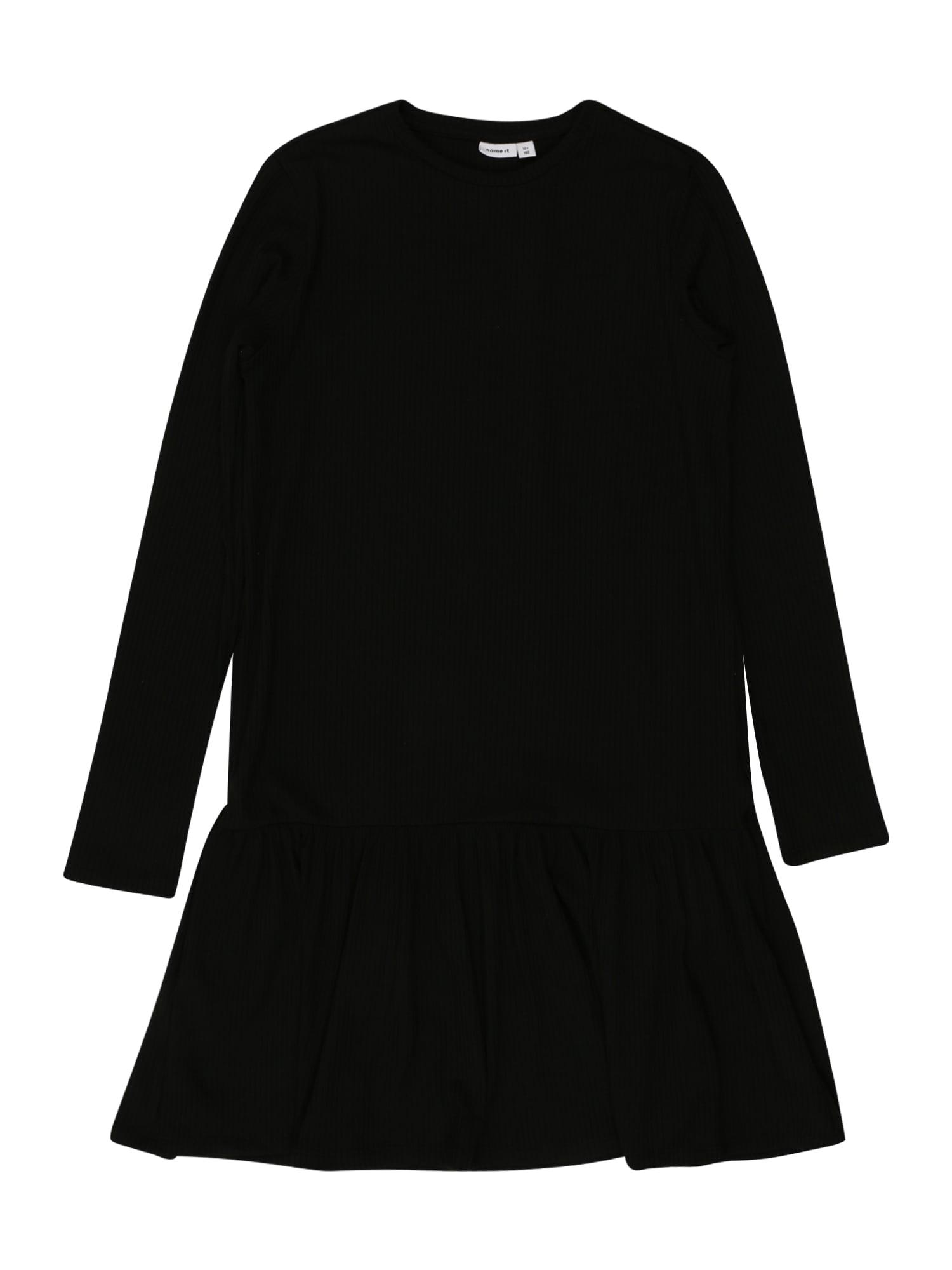 NAME IT Šaty 'ROLUMA'  černá