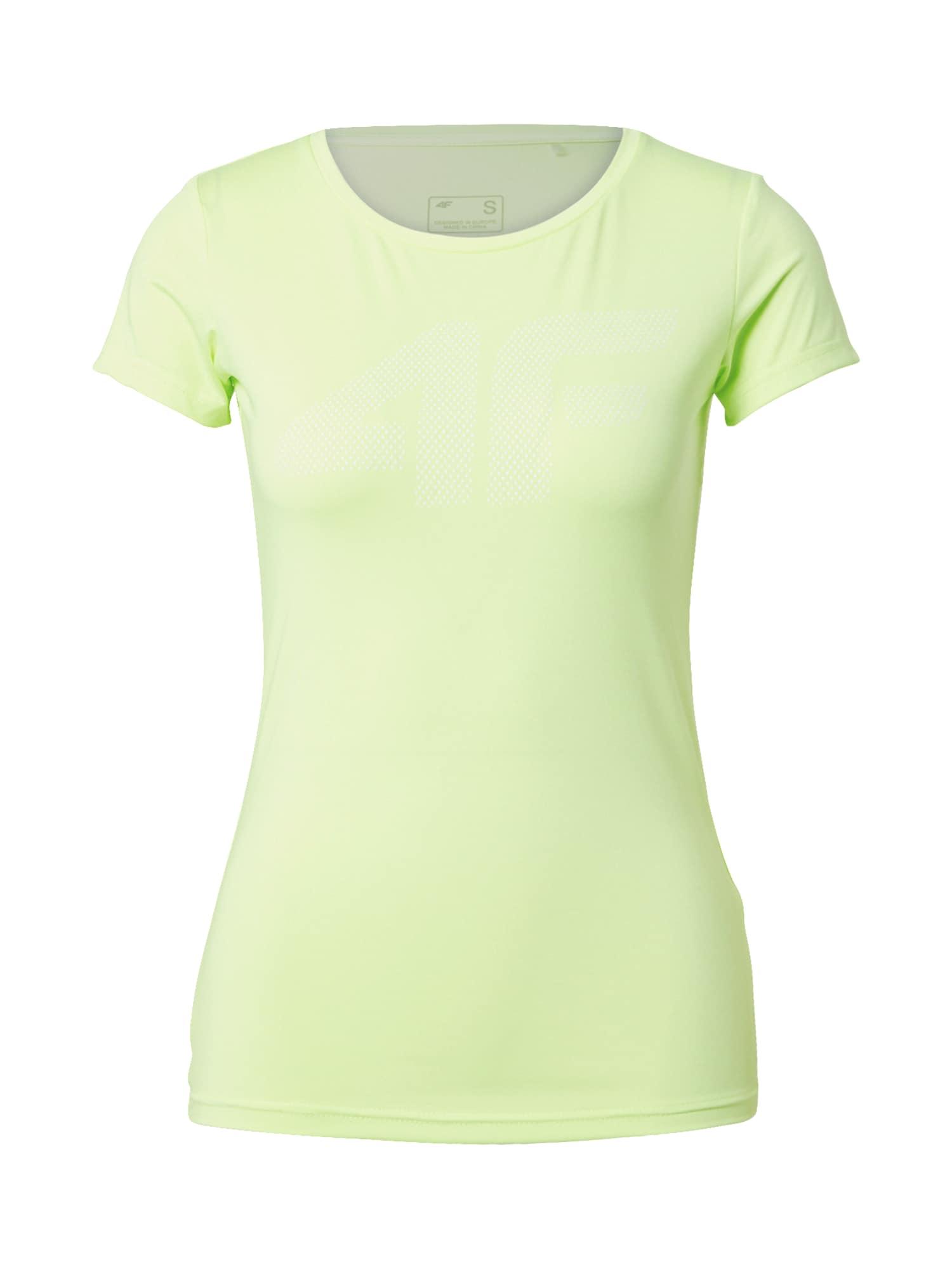 4F Sportiniai marškinėliai neoninė žalia
