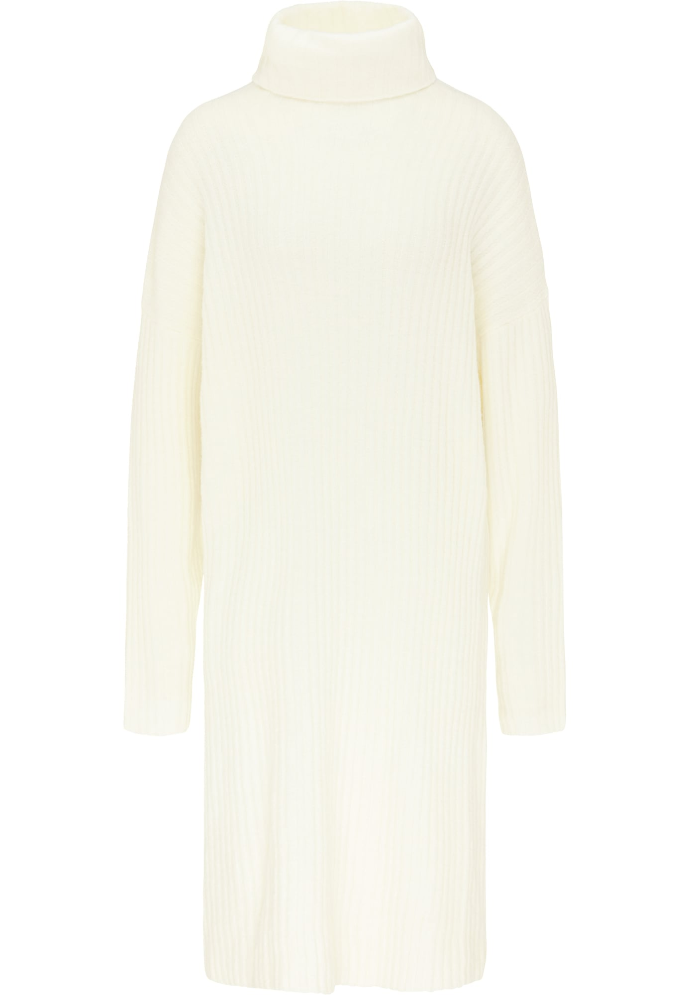 MYMO Megzta suknelė balta