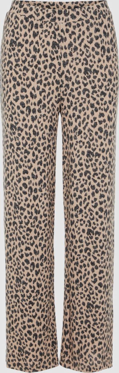 Pieces Polly Hose mit weitem Bein und Leopardenmuster (Kombiteil)