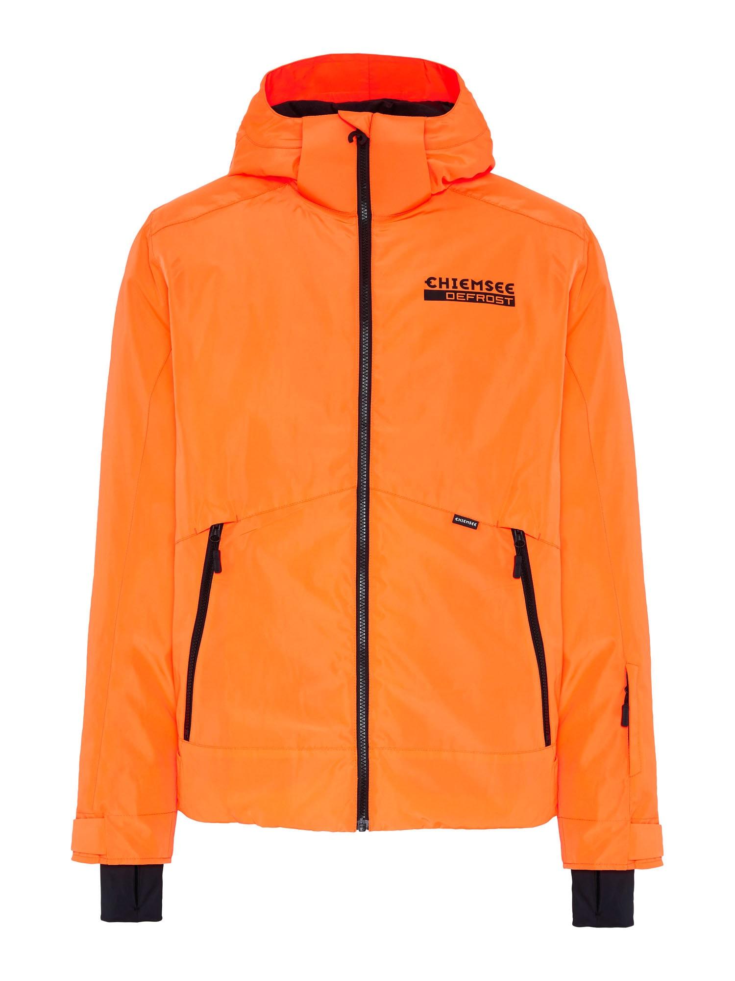CHIEMSEE Outdoorová bunda 'THREDBO'  oranžová / bílá / černá