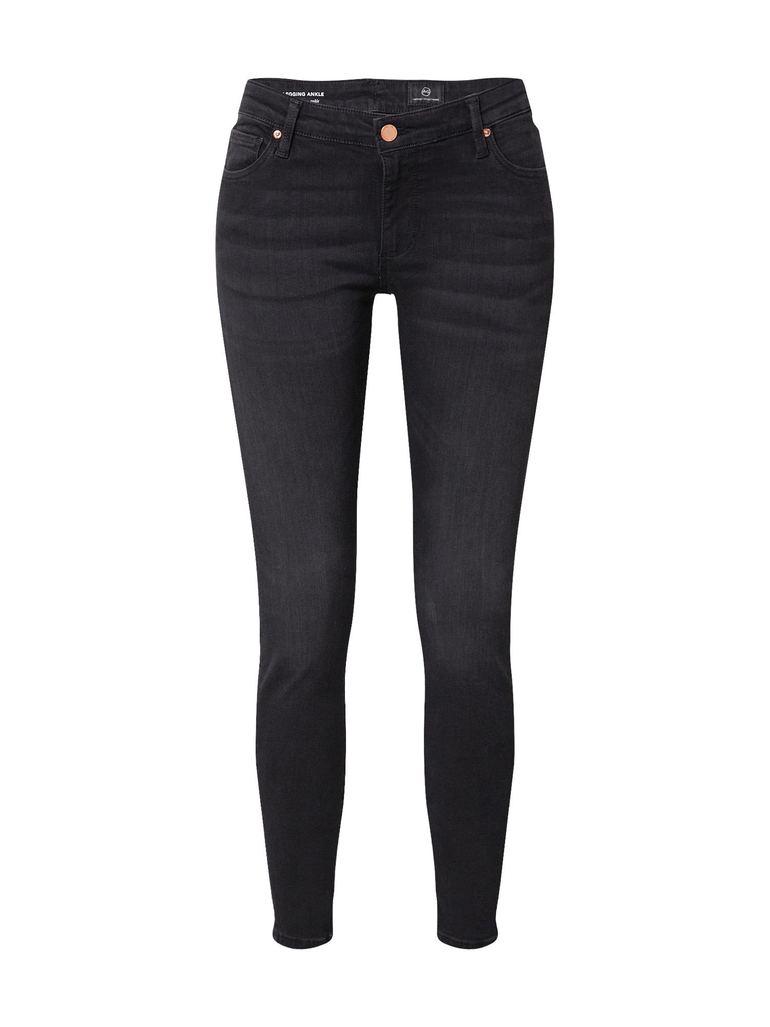 AG Jeans Džinsai juodo džinso spalva
