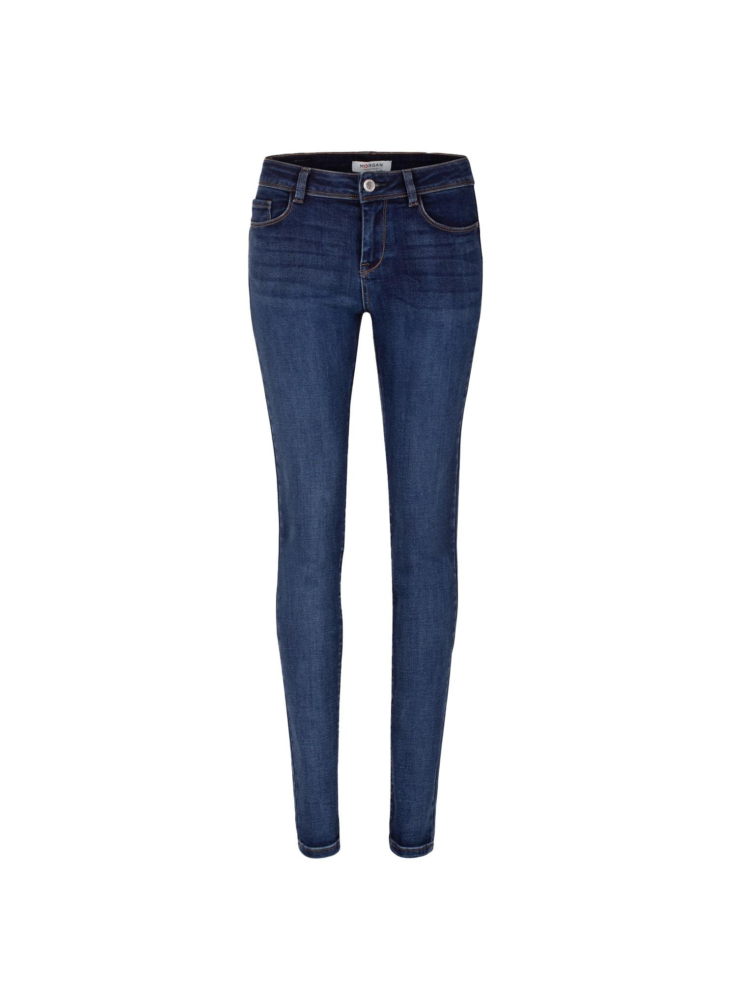 Morgan Džinsai tamsiai (džinso) mėlyna
