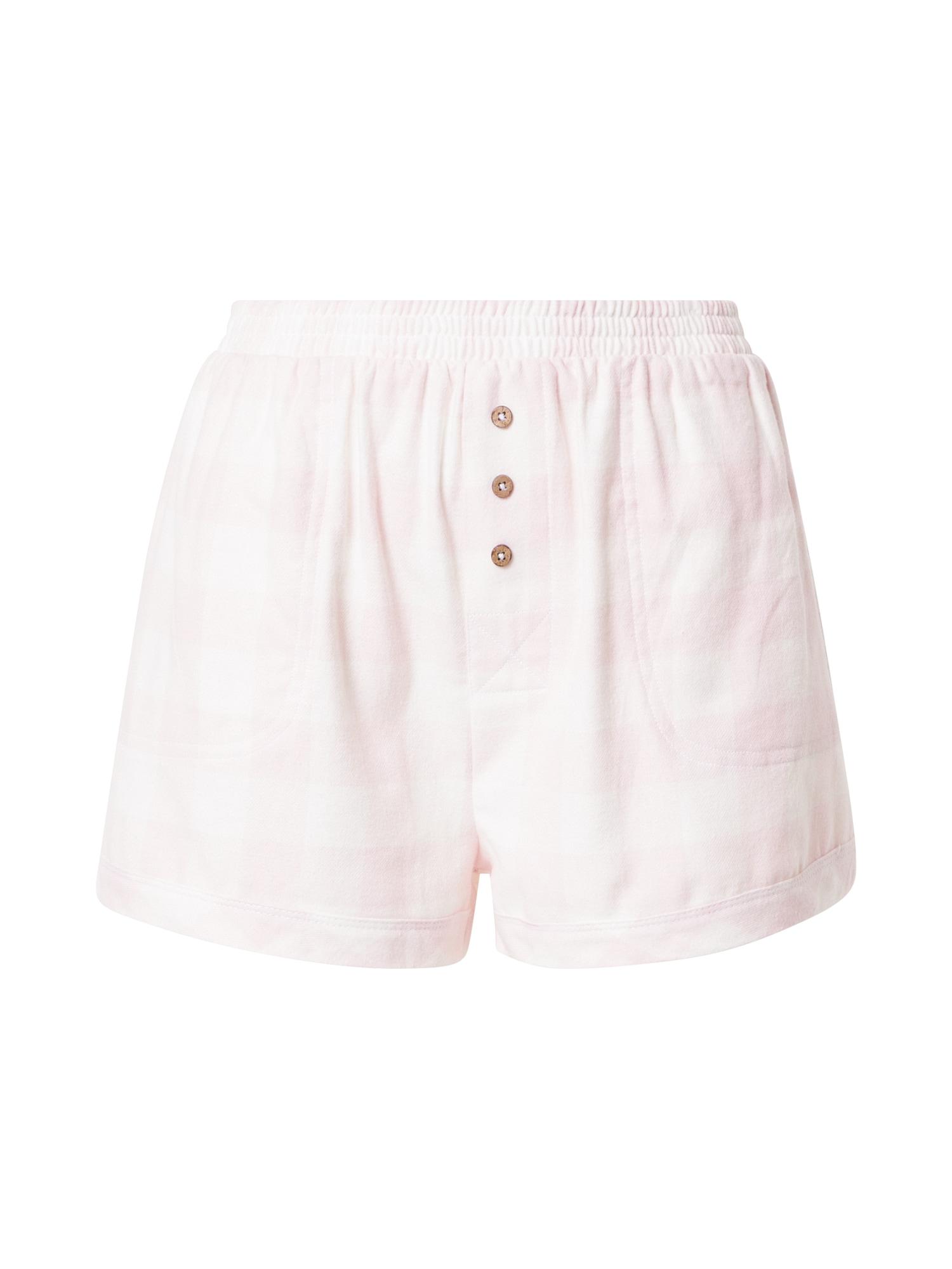 Cotton On Body Pižaminės kelnės šviesiai rožinė