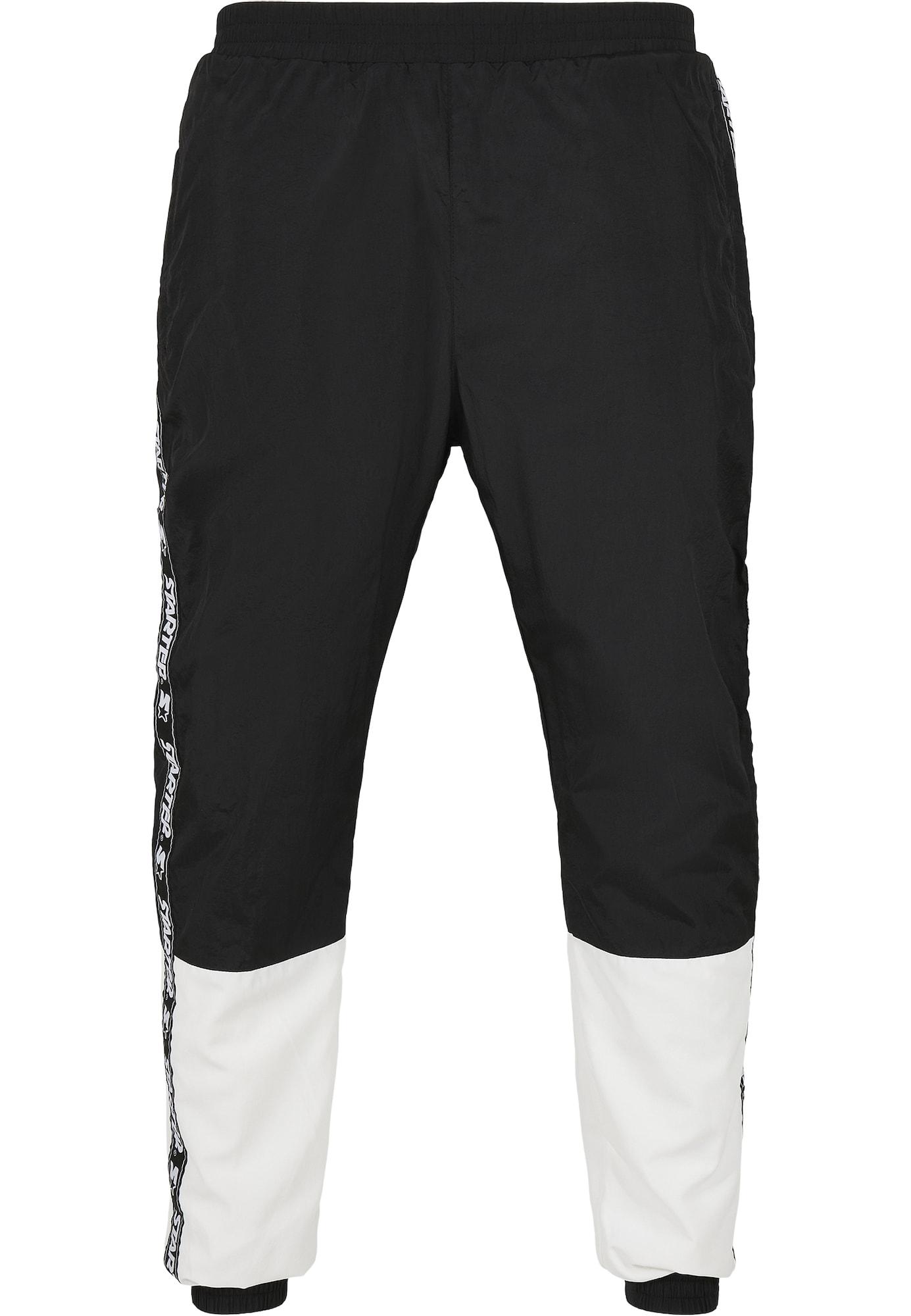 Starter Black Label Kelnės balta / juoda