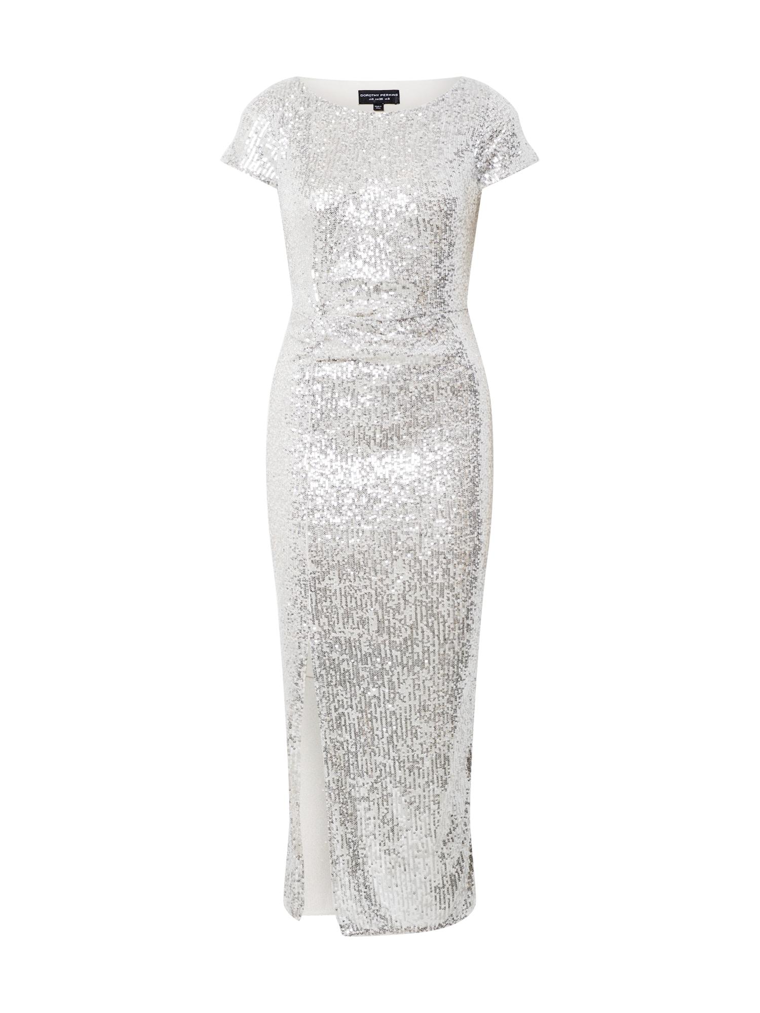 Dorothy Perkins Vakarinė suknelė sidabrinė