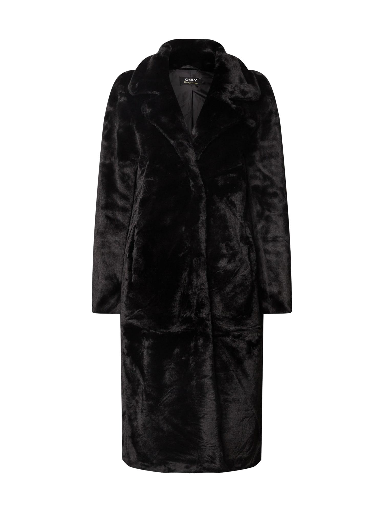 ONLY Zimný kabát 'Frida'  čierna