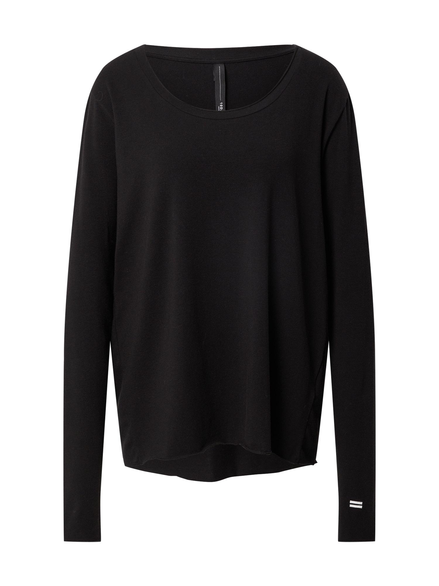 10Days Megztinis juoda / balta