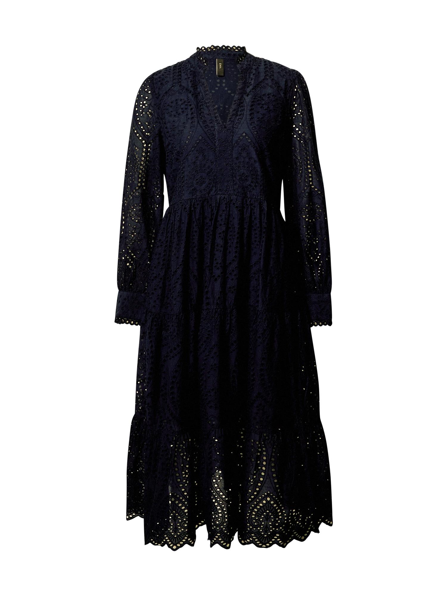 Y.A.S Košilové šaty 'Holi'  tmavě modrá