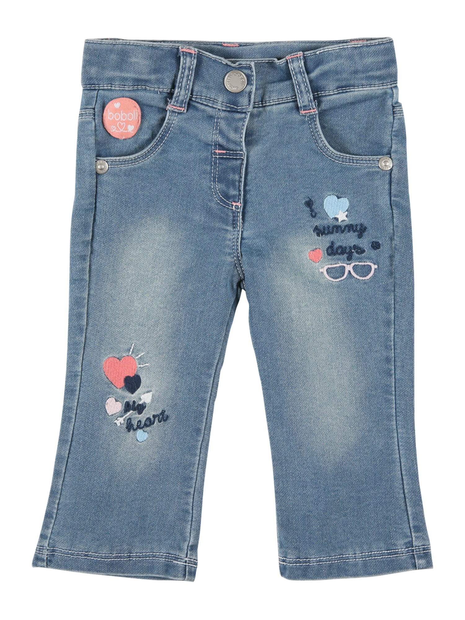 Boboli Džinsai tamsiai (džinso) mėlyna