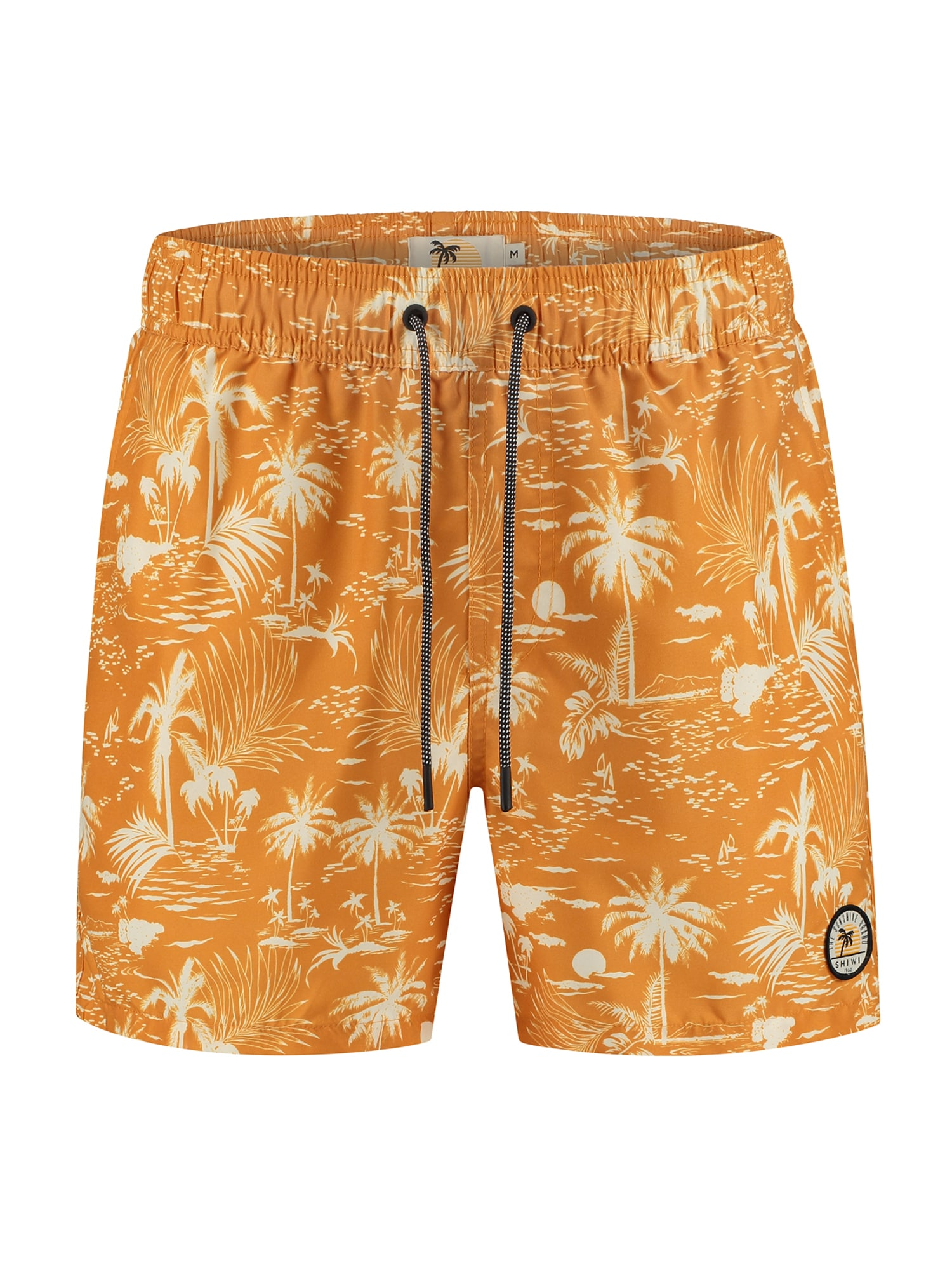 Shiwi Plavecké šortky  oranžová / krémová