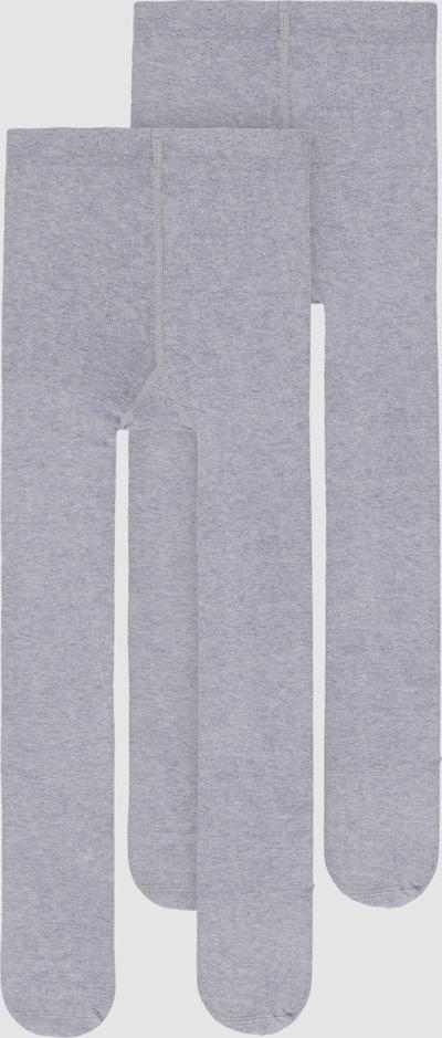 Name It Mini graumelierte Strumpfhose im 2er-Pack