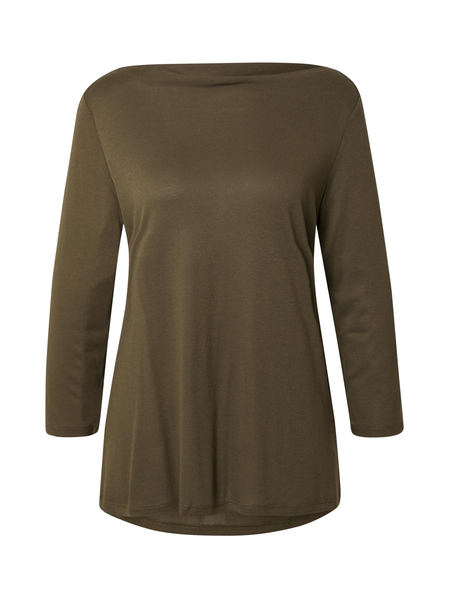Esprit Collection Marškinėliai rusvai žalia
