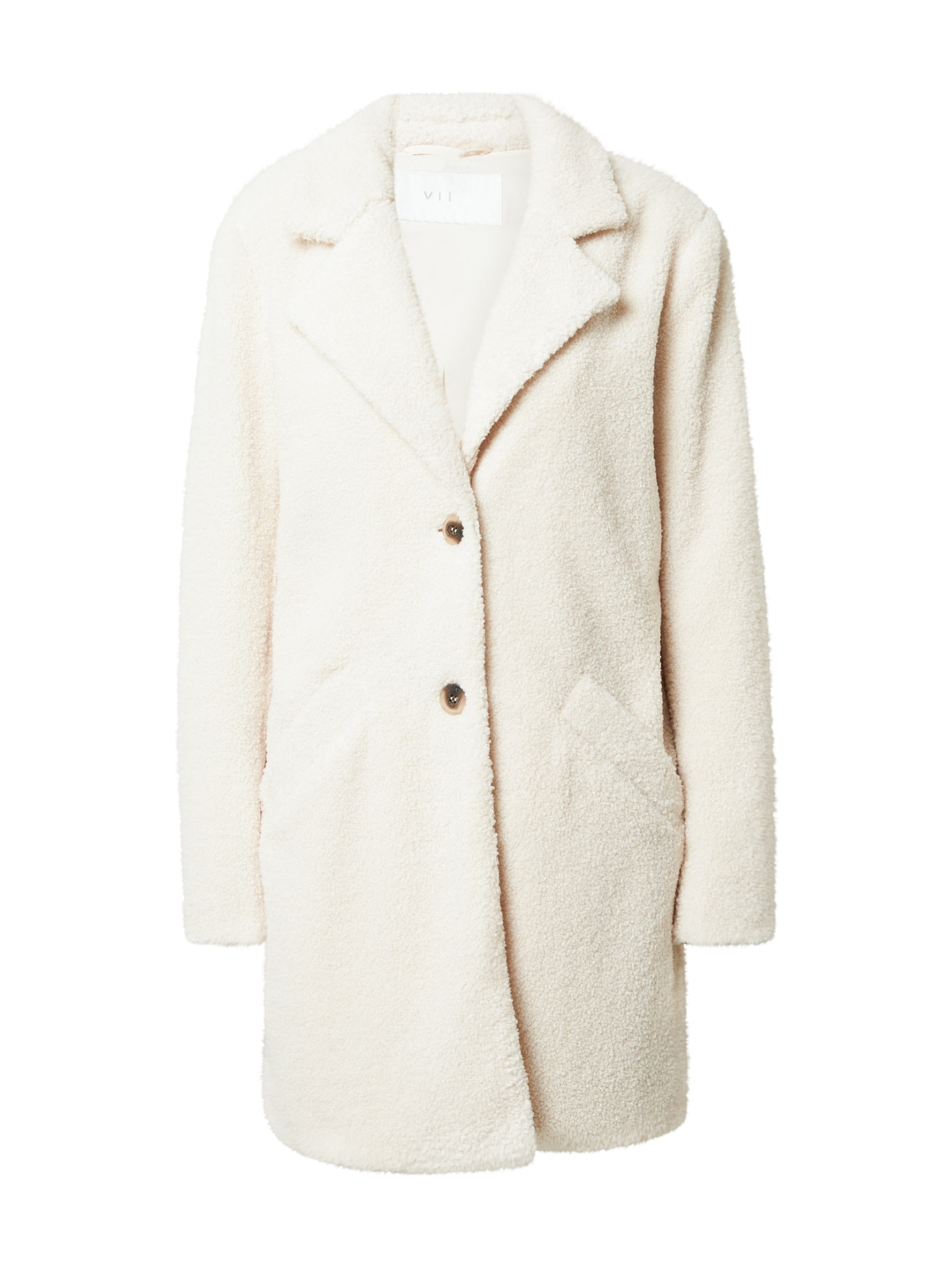VILA Demisezoninis paltas kremo