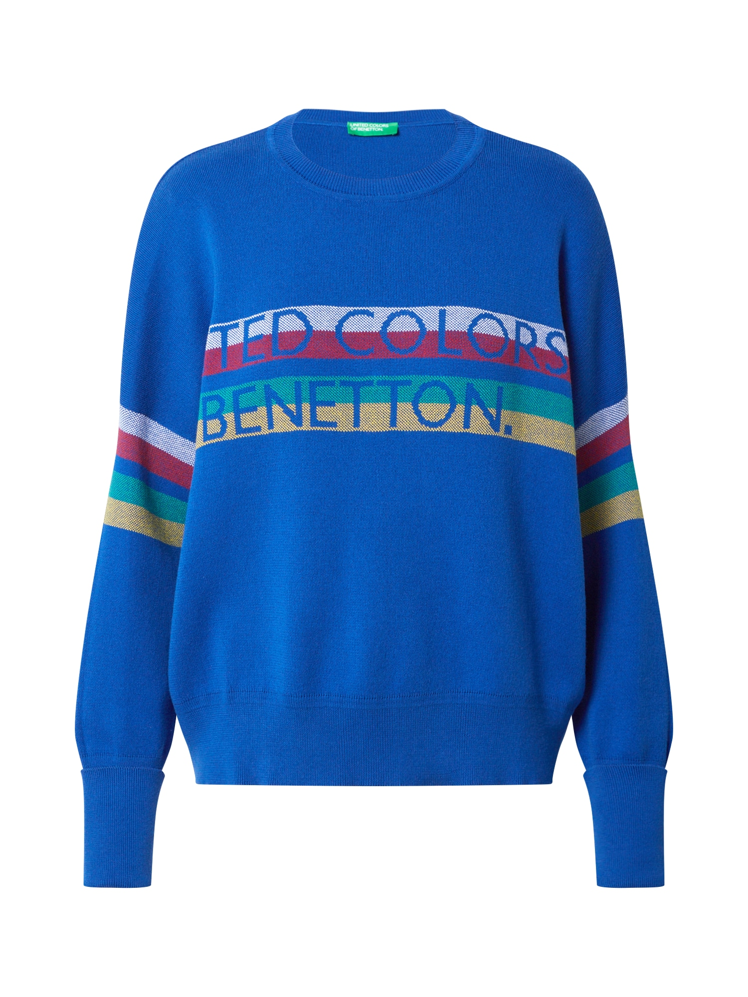 UNITED COLORS OF BENETTON Svetr  modrá / mix barev